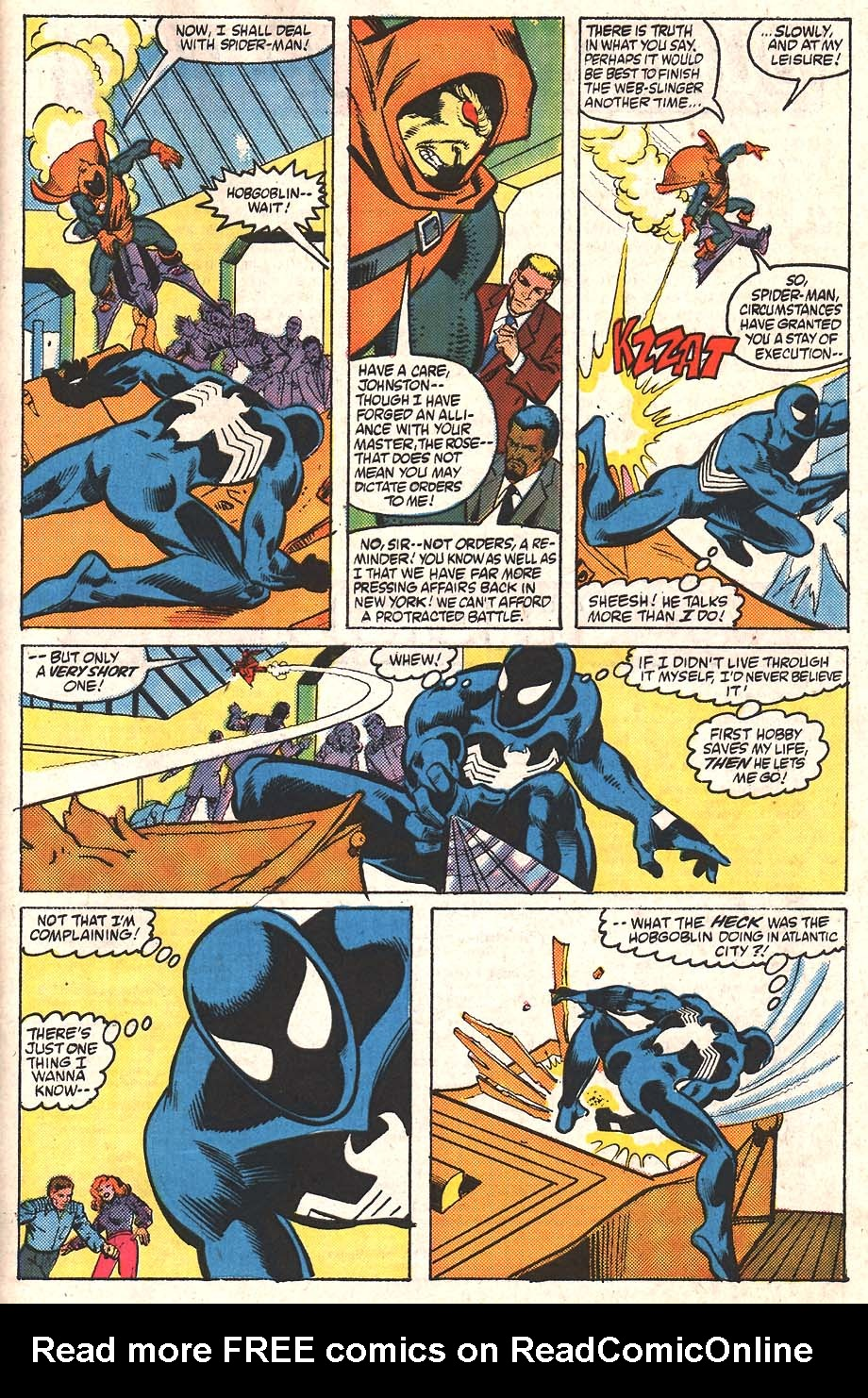 Web of Spider-Man (1985) Issue #24 #34 - English 21