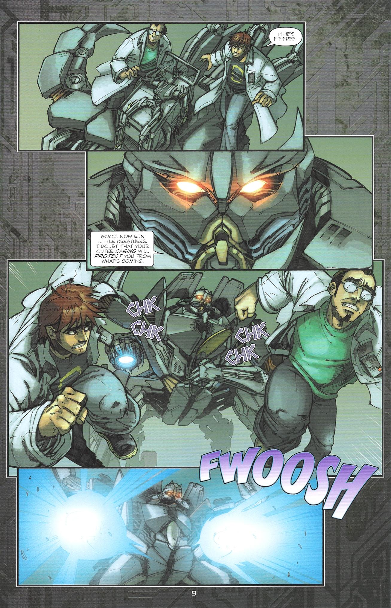 Read online Transformers: The Reign of Starscream comic -  Issue #2 - 11