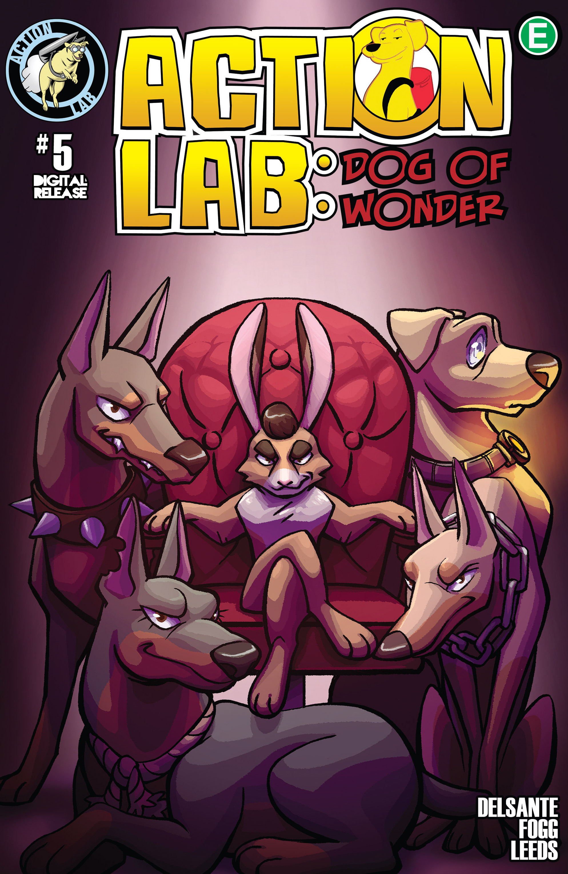 Read online Action Lab, Dog of Wonder comic -  Issue #5 - 1