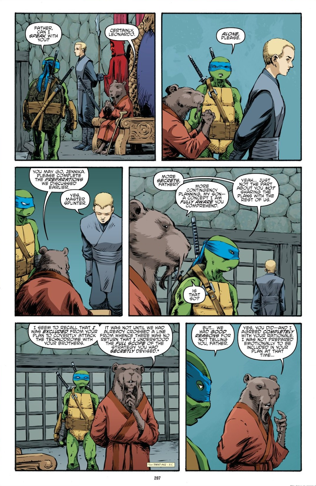 Read online Teenage Mutant Ninja Turtles: The IDW Collection comic -  Issue # TPB 7 (Part 3) - 78