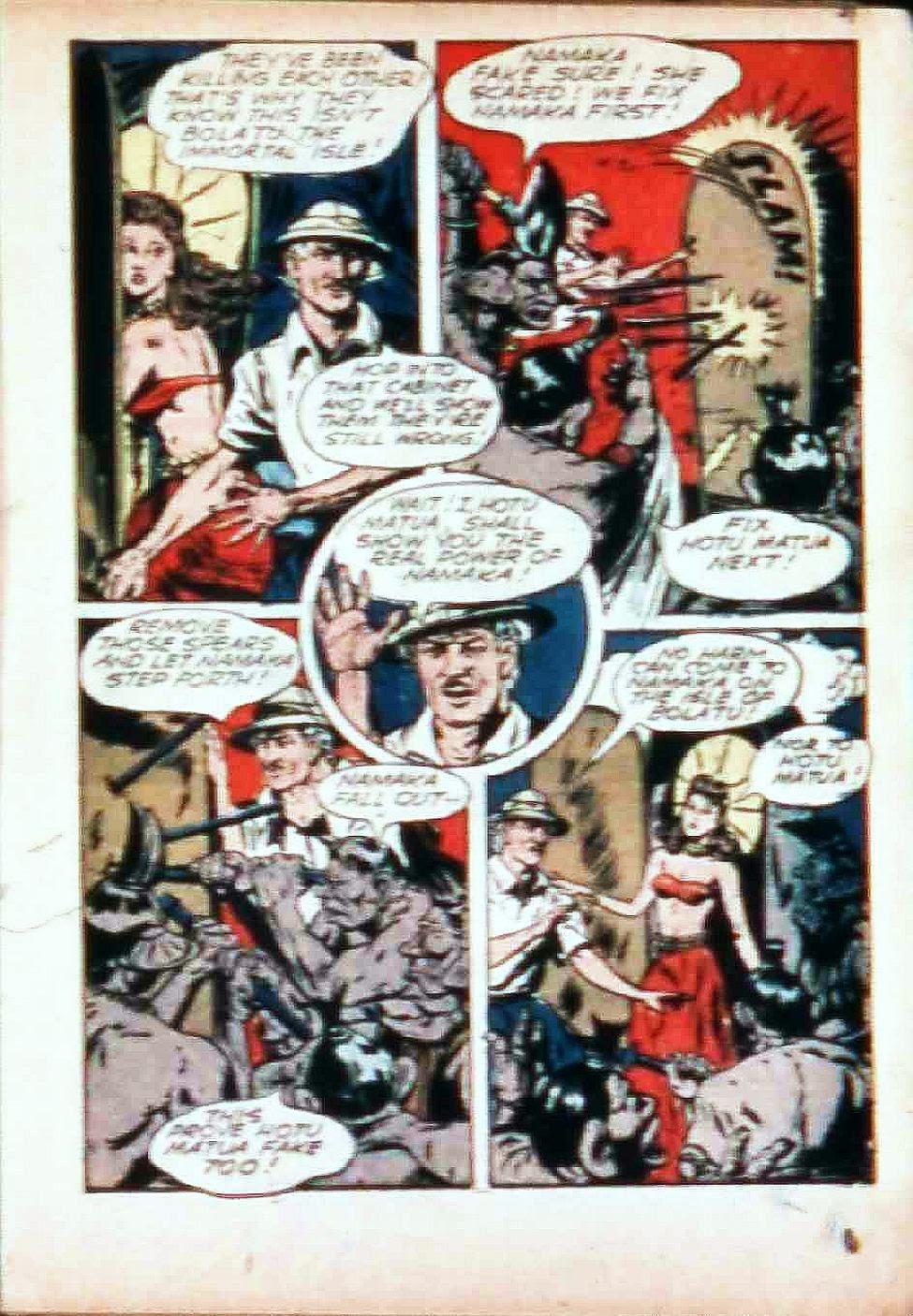 Read online Super-Magician Comics comic -  Issue #17 - 31