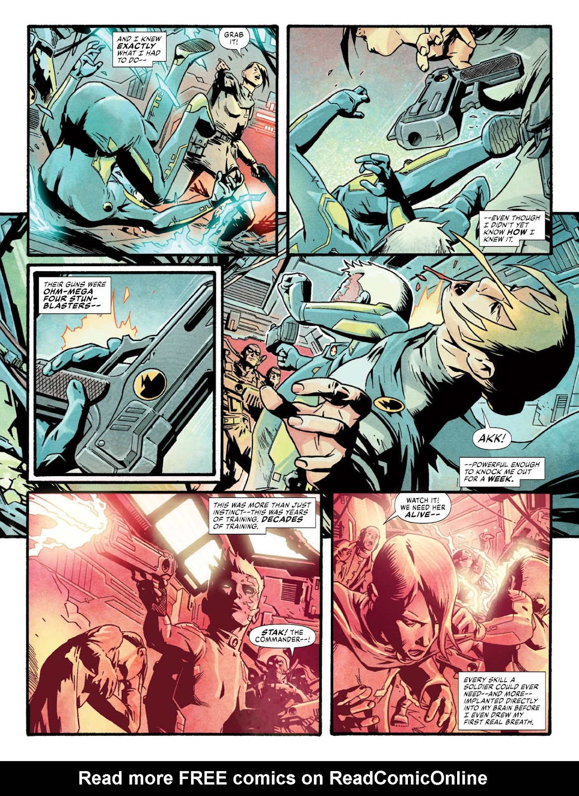 2000 AD issue 2220 - Page 45