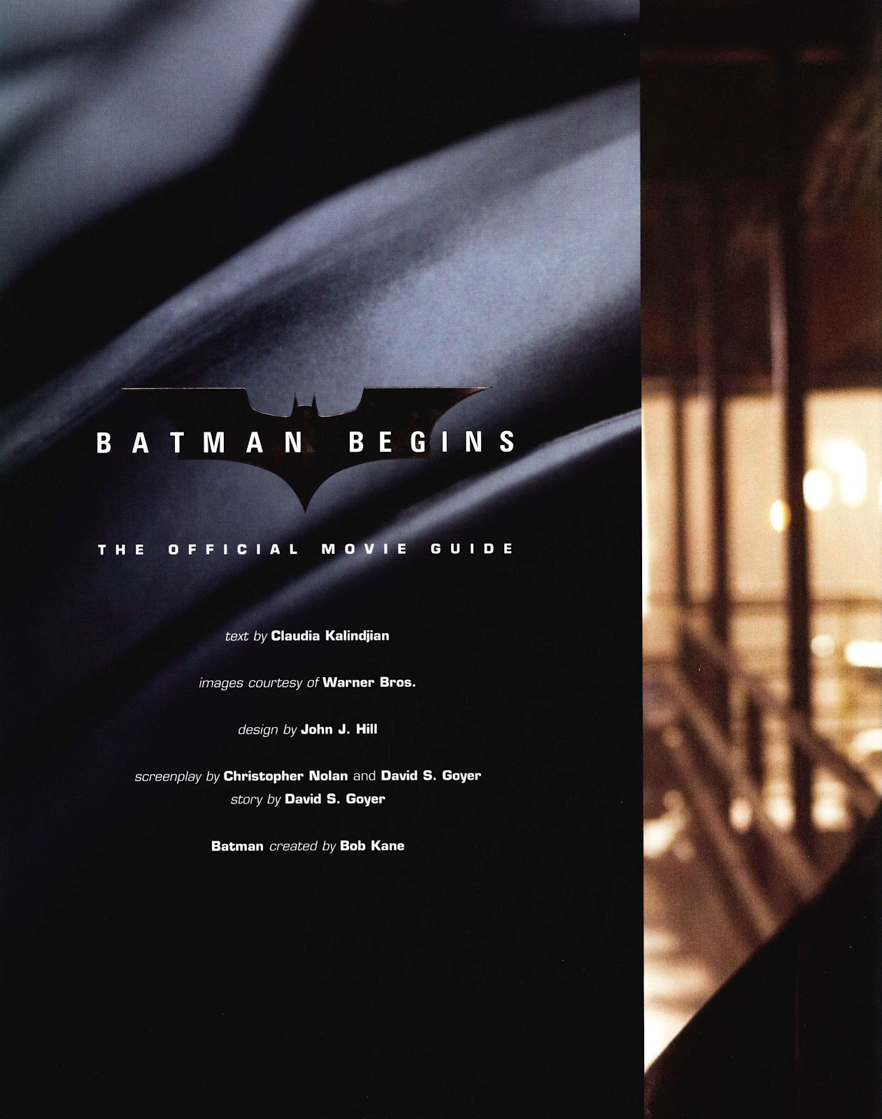 Read online Batman Begins: The Official Movie Guide comic -  Issue # TPB (Part 1) - 9