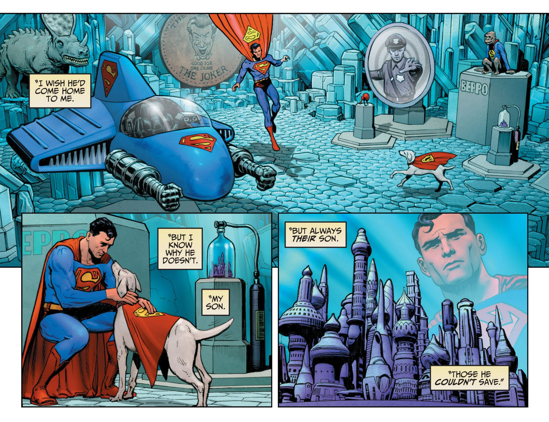 Read online Adventures of Superman [I] comic -  Issue #12 - 20