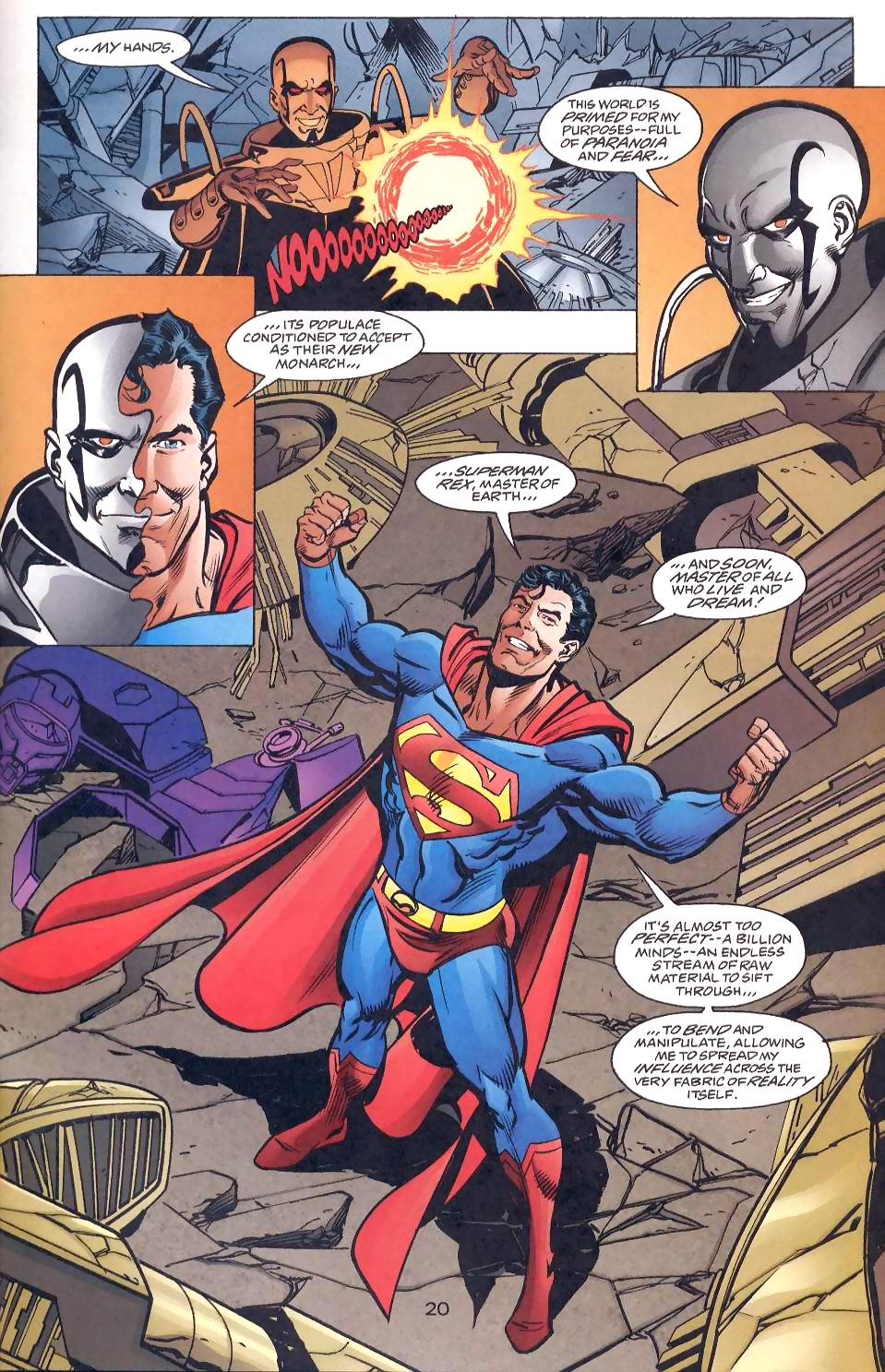 Read online Adventures of Superman (1987) comic -  Issue #567 - 22