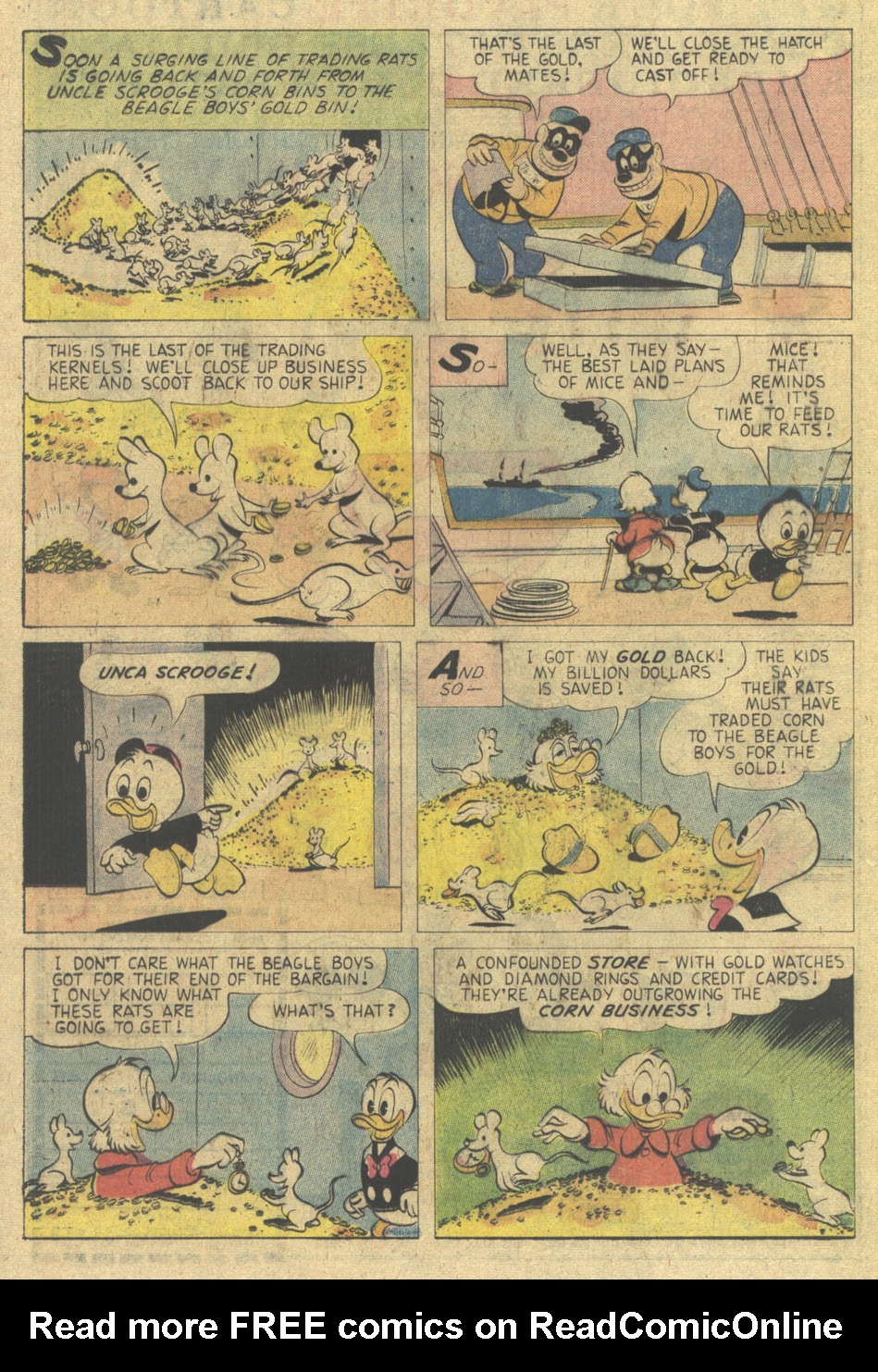 Read online Uncle Scrooge (1953) comic -  Issue #137 - 24
