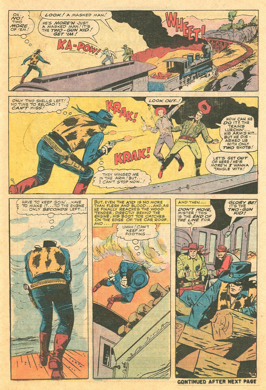 Read online Two-Gun Kid comic -  Issue #110 - 21