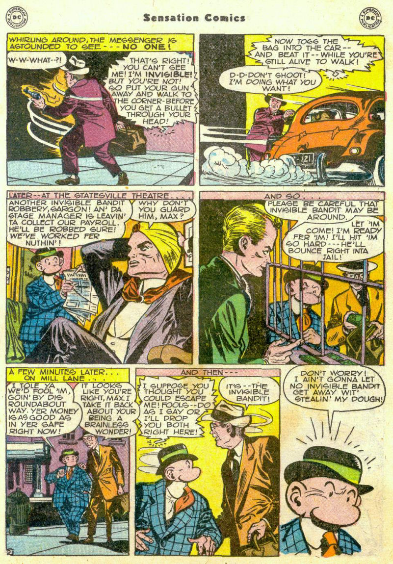 Read online Sensation (Mystery) Comics comic -  Issue #75 - 24