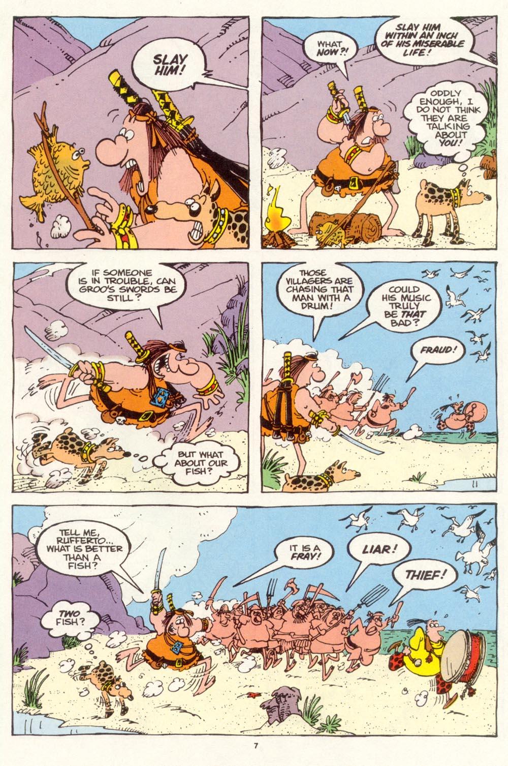 Read online Sergio Aragonés Groo the Wanderer comic -  Issue #113 - 9