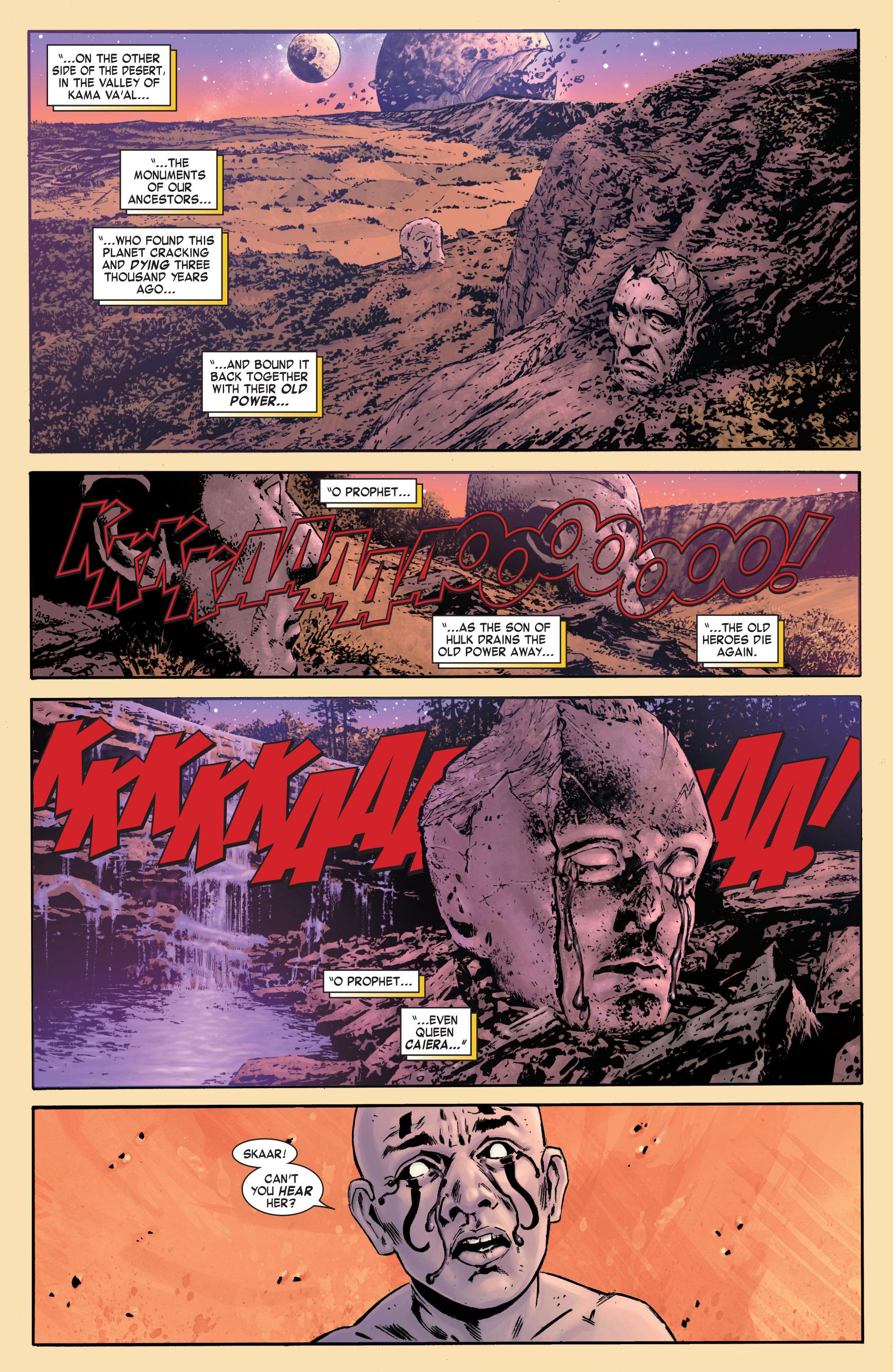 Read online Skaar: Son of Hulk comic -  Issue #7 - 12
