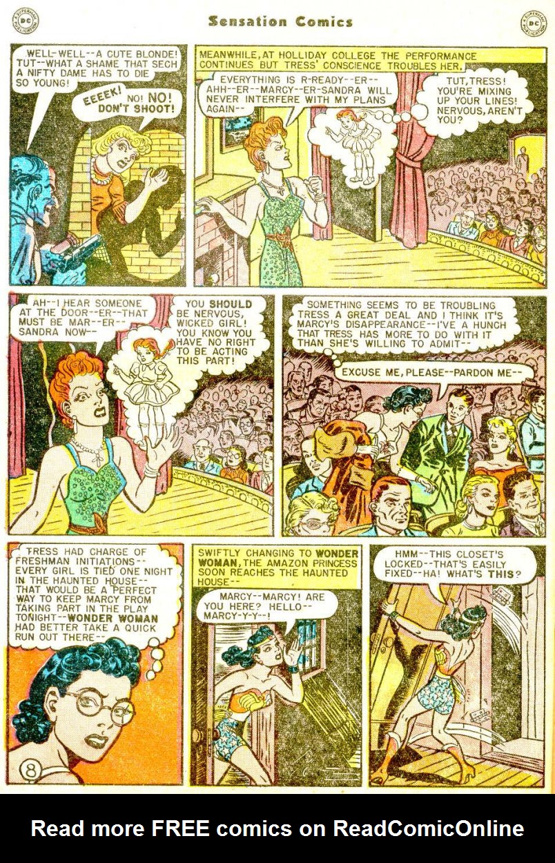Read online Sensation (Mystery) Comics comic -  Issue #77 - 10