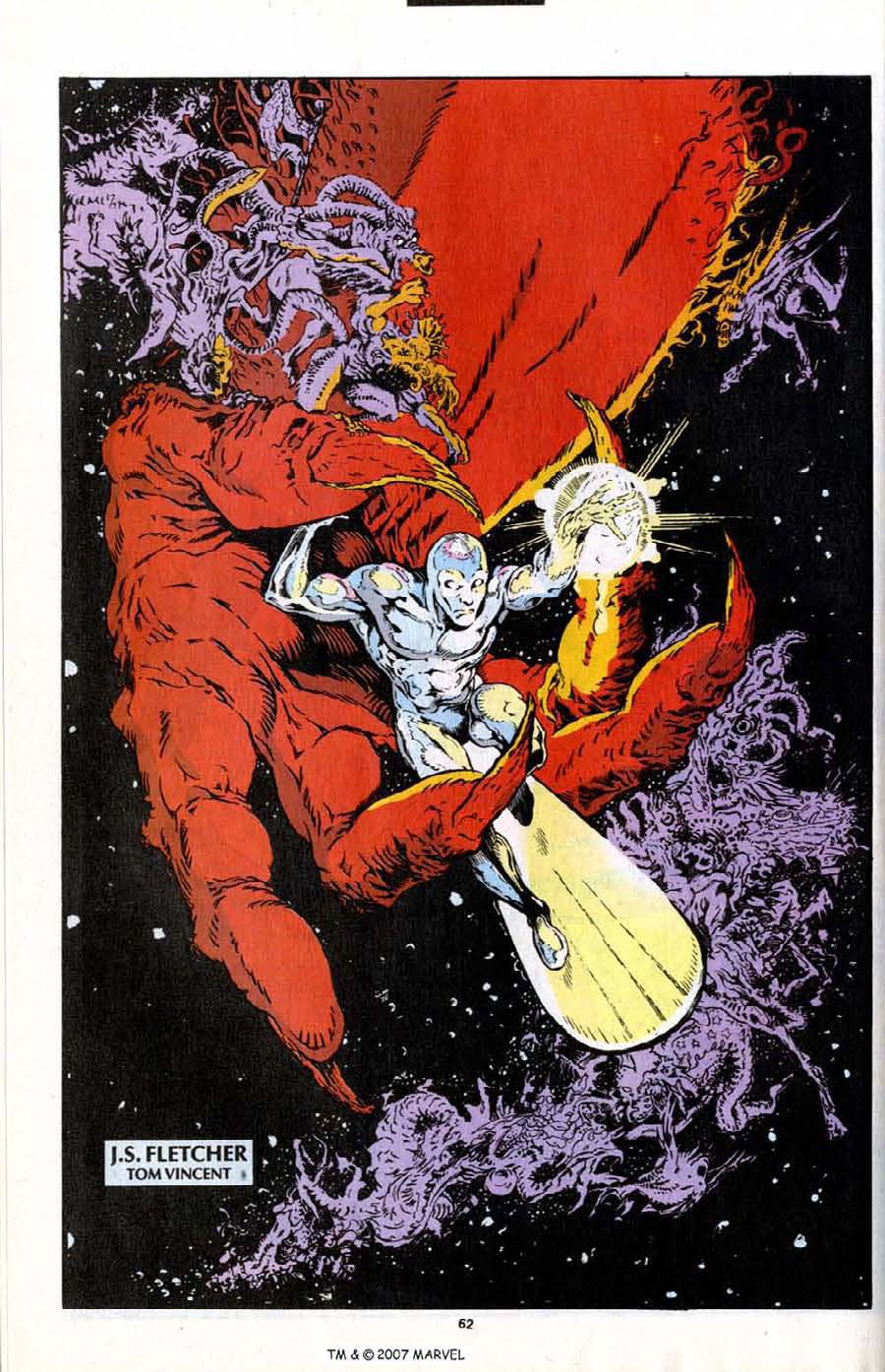 Read online Silver Surfer (1987) comic -  Issue # _Annual 7 - 64