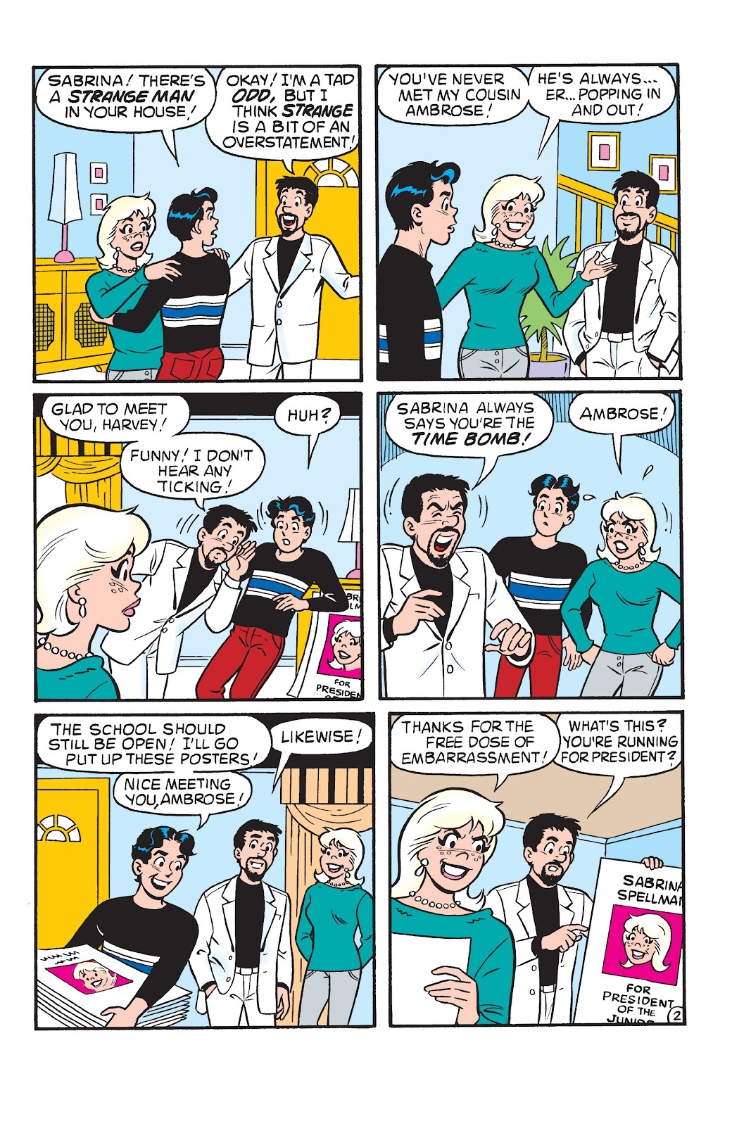 Sabrina the Teenage Witch (1997) Issue #22 #23 - English 3