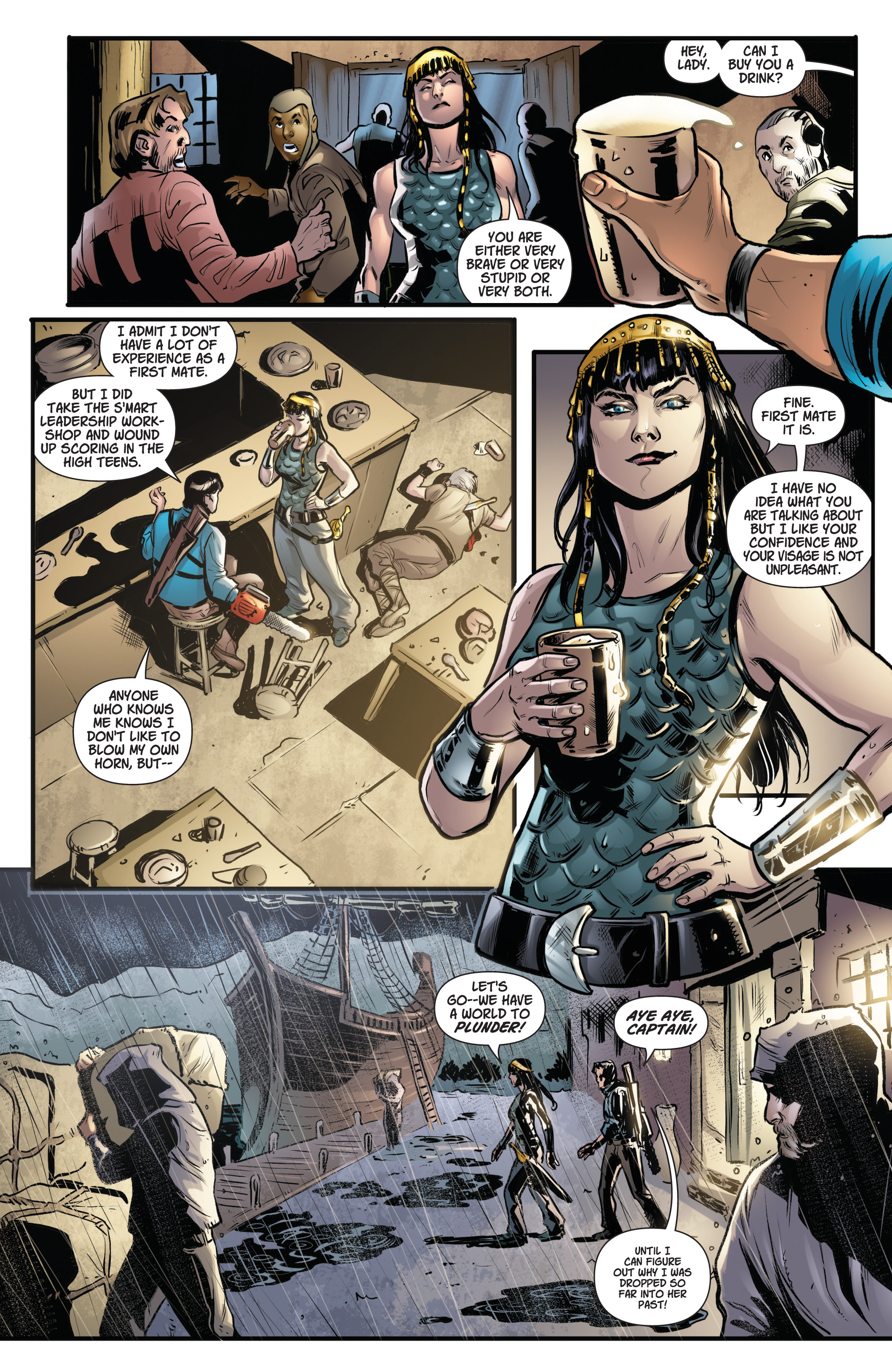 Read online Army Of Darkness/Xena: Forever…And A Day comic -  Issue #3 - 12