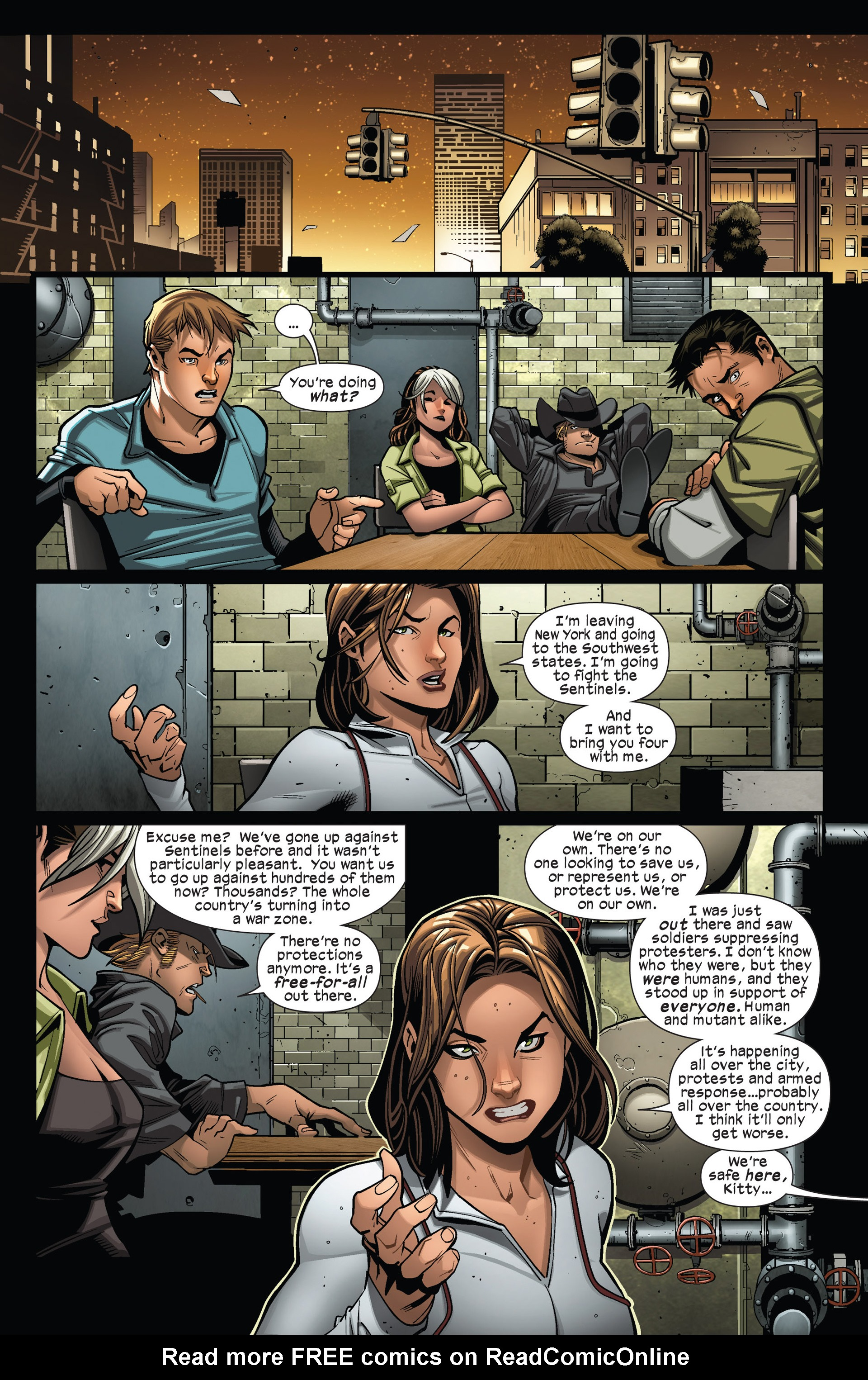Read online Ultimate Comics X-Men comic -  Issue #13 - 14