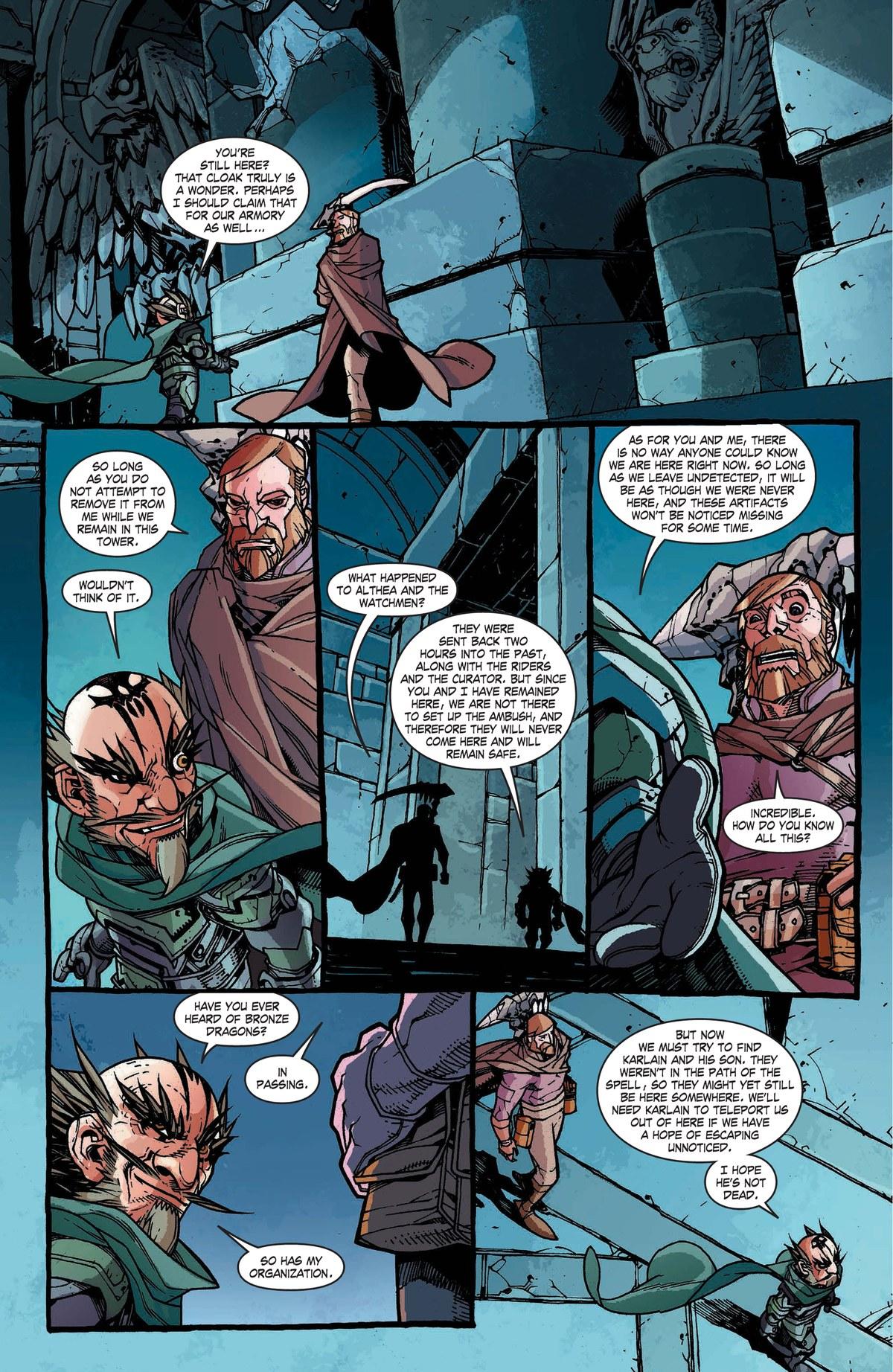 Read online World of Warcraft: Dark Riders comic -  Issue # Full - 126