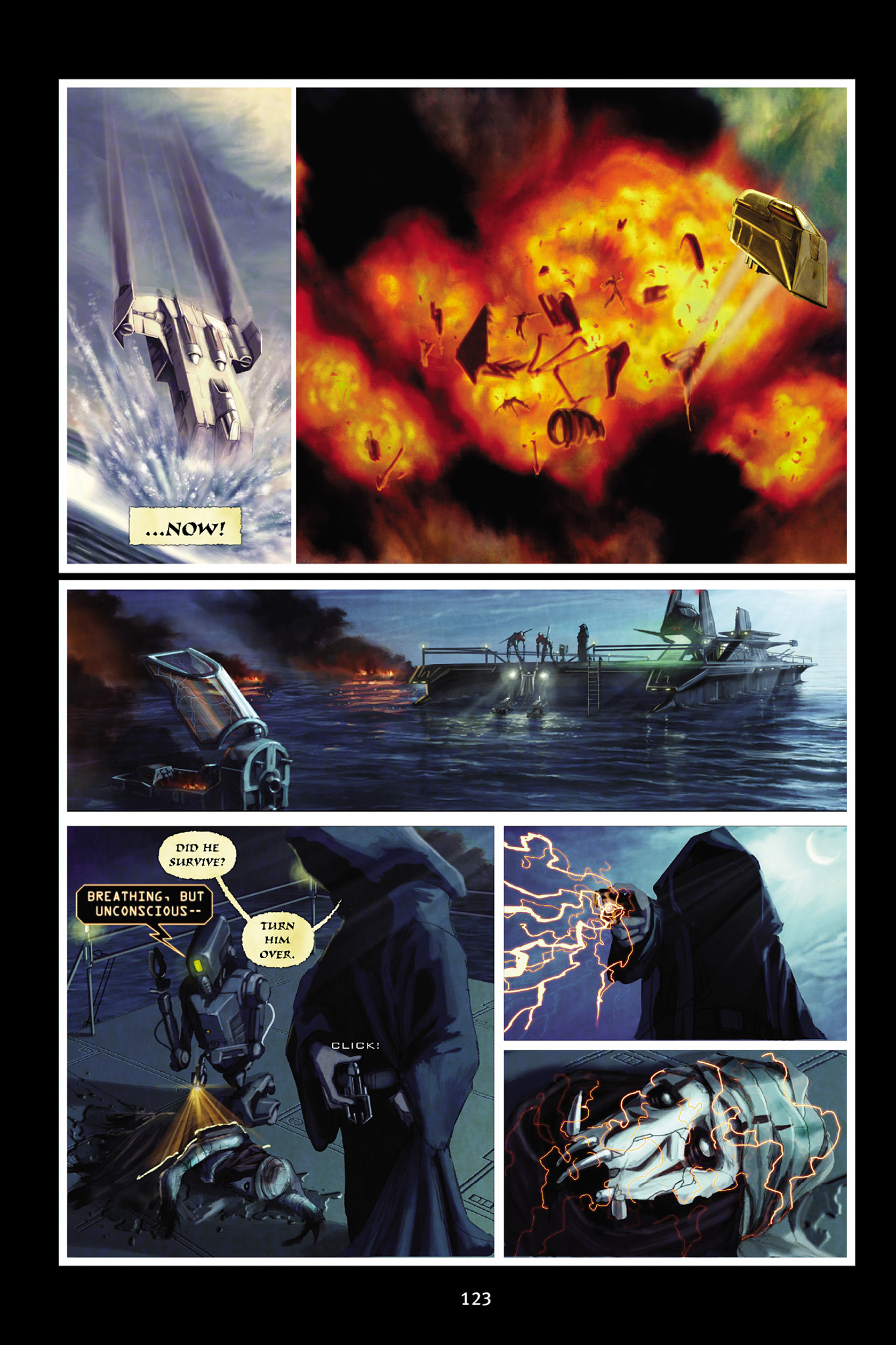 Read online Star Wars Omnibus comic -  Issue # Vol. 30 - 121
