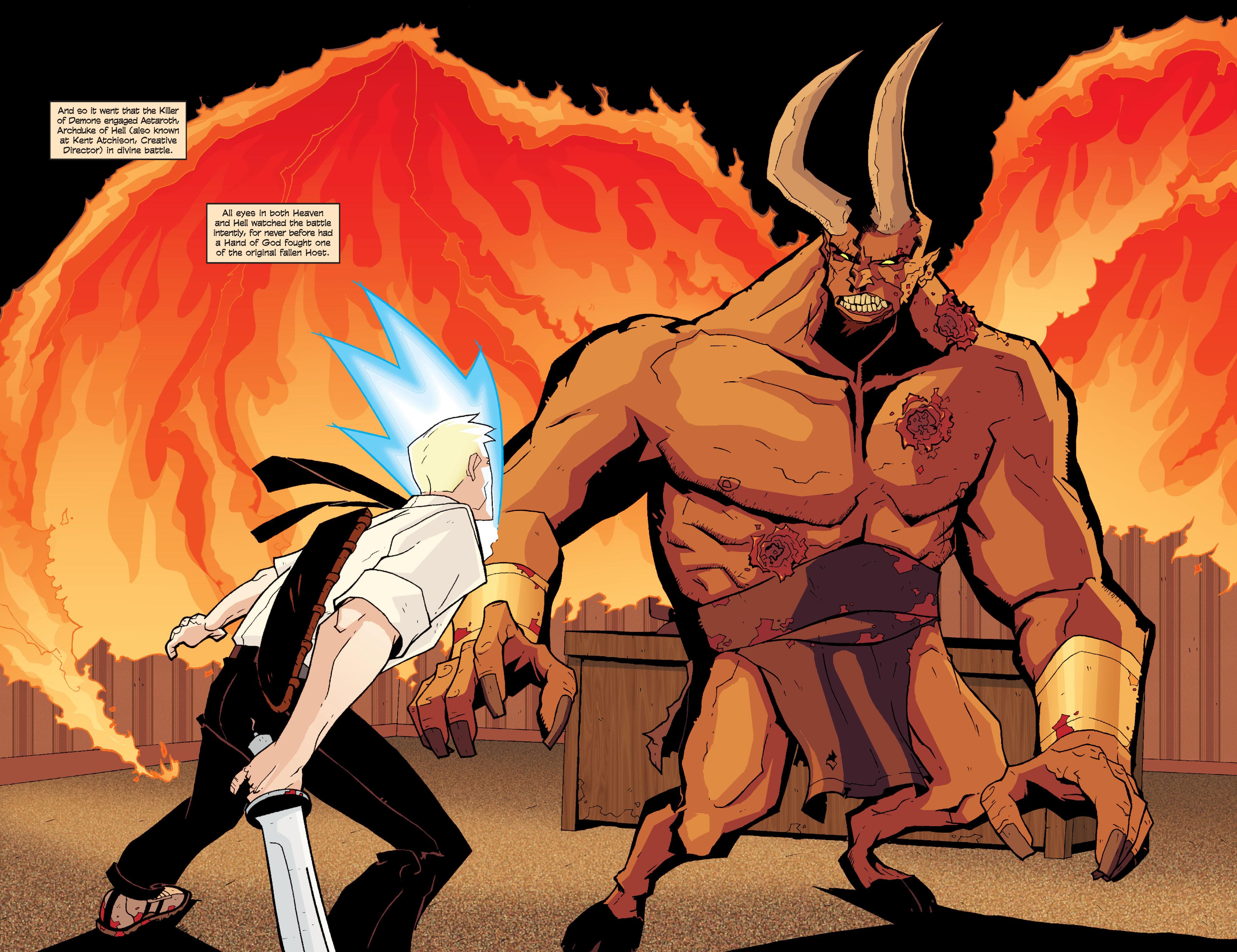 Read online Killer Of Demons comic -  Issue #3 - 23