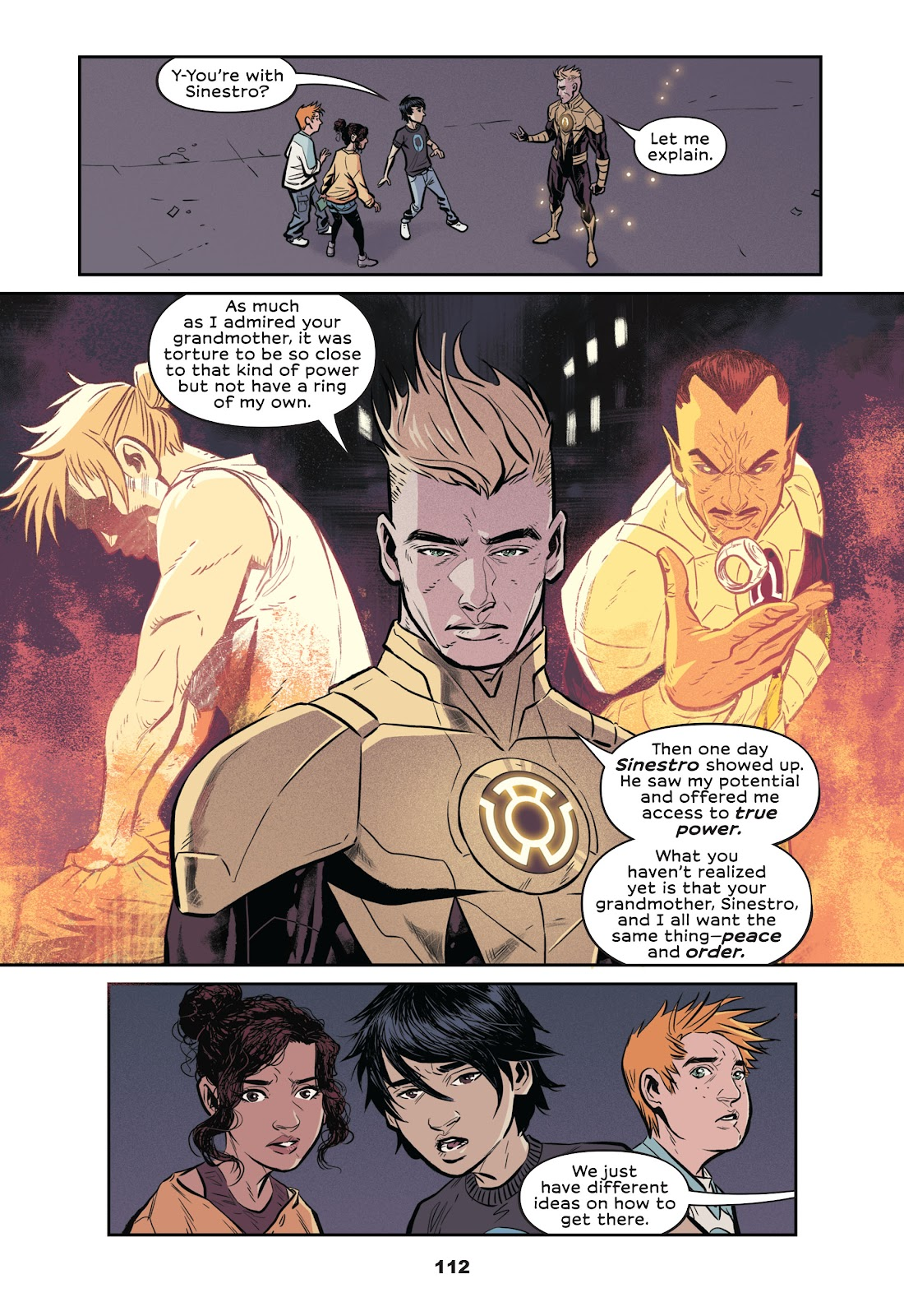 Read online Green Lantern: Legacy comic -  Issue # TPB - 110