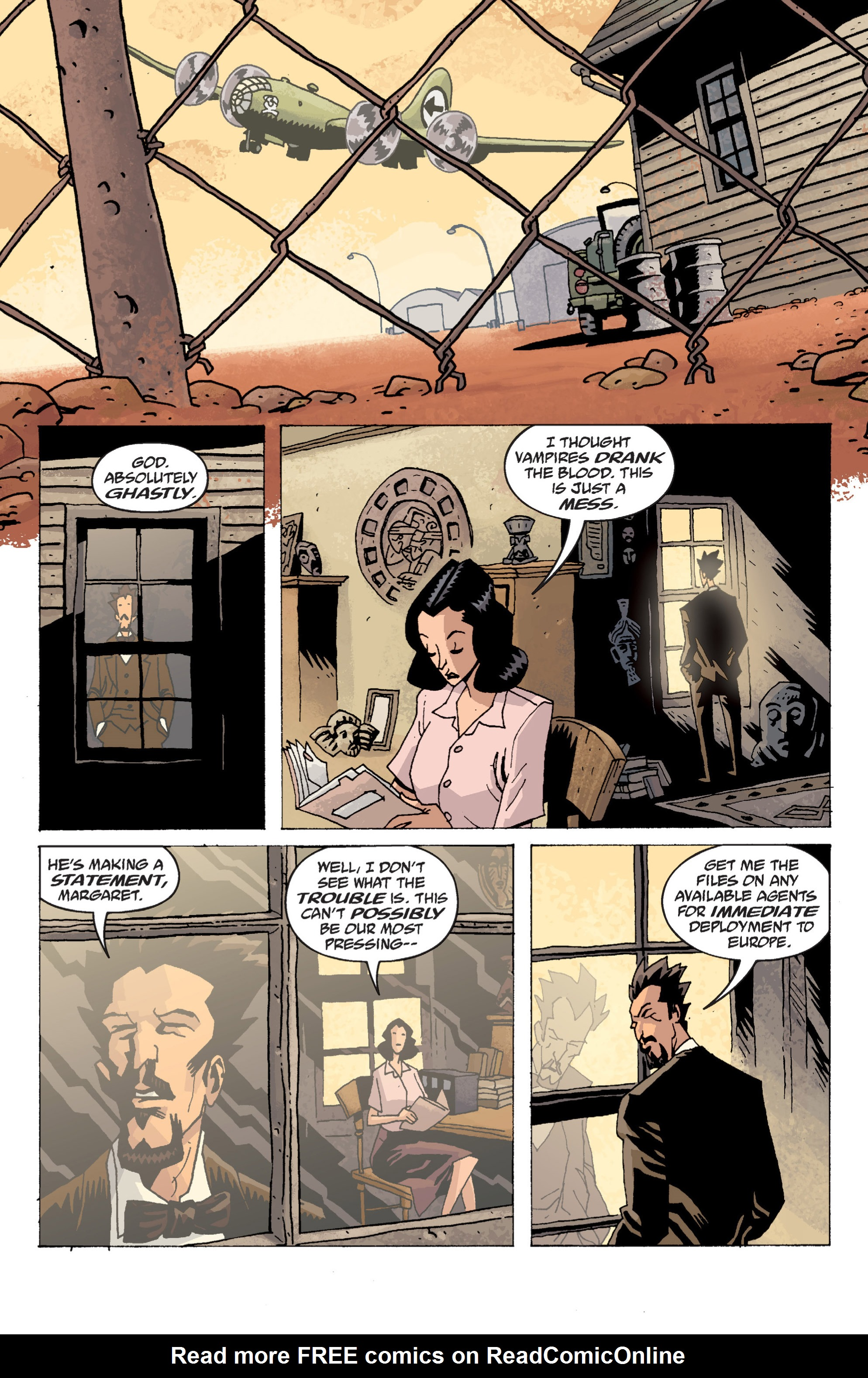 Read online B.P.R.D. (2003) comic -  Issue # TPB 13 - 15