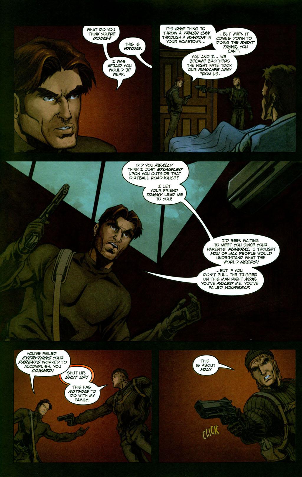 Read online Snake Eyes: Declassified comic -  Issue #2 - 19