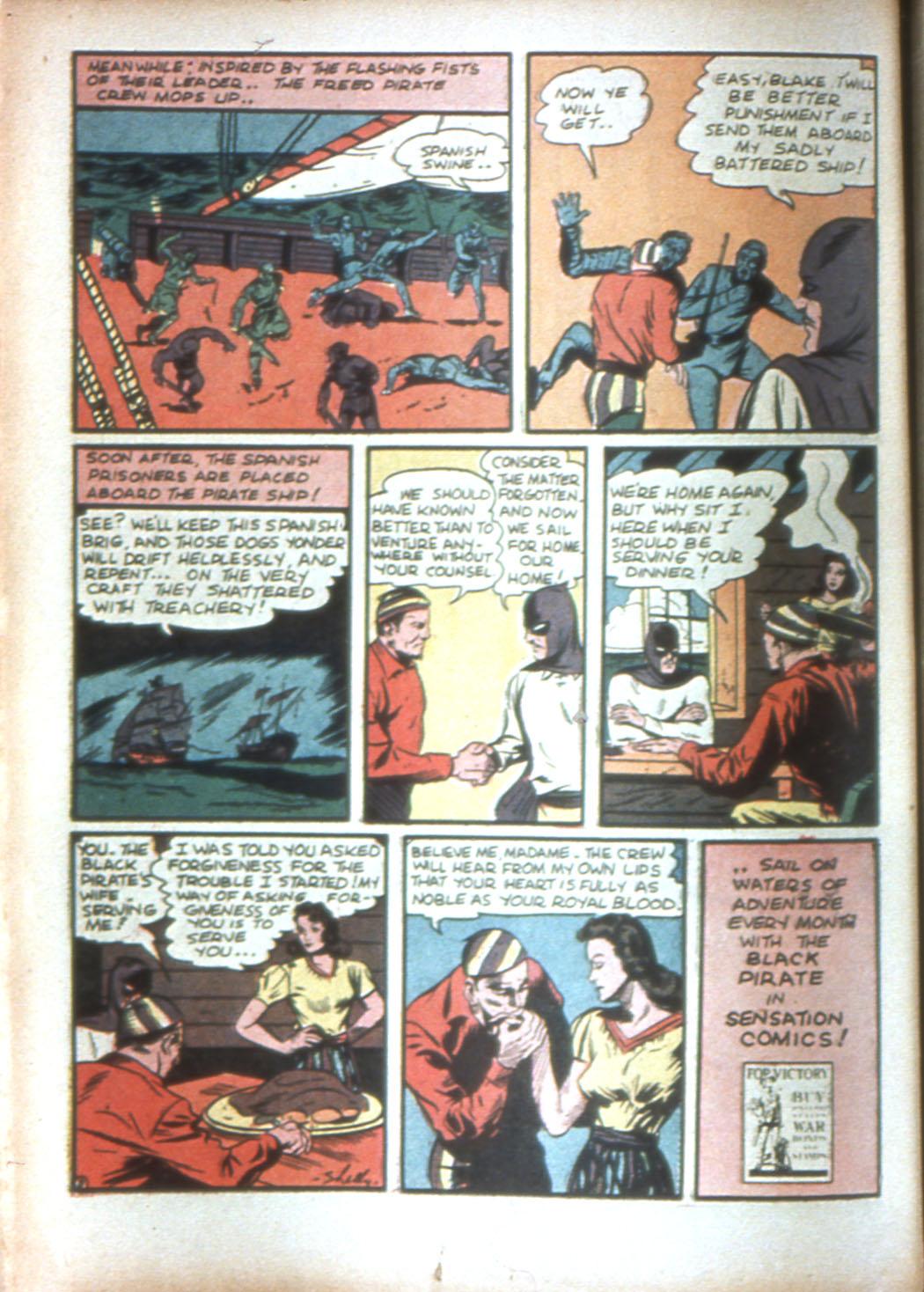 Read online Sensation (Mystery) Comics comic -  Issue #16 - 24