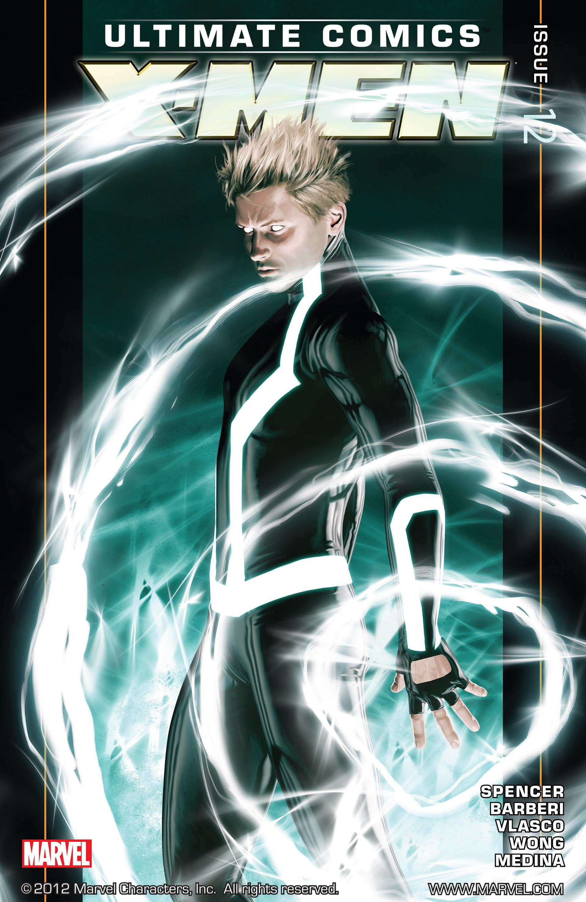 Read online Ultimate Comics X-Men comic -  Issue #12 - 1