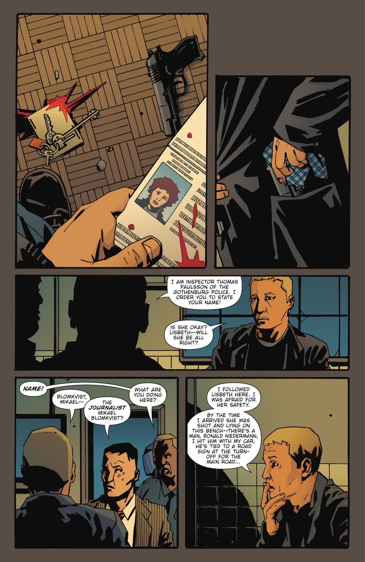 Read online The Girl Who Kicked The Hornet's Nest comic -  Issue # TPB - 6