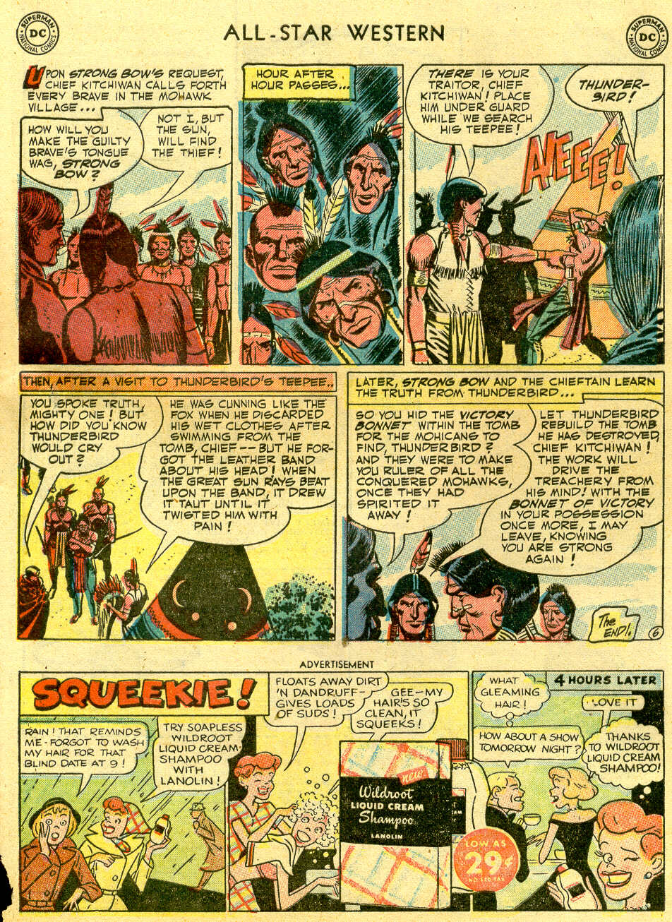 Read online All-Star Western (1951) comic -  Issue #64 - 33