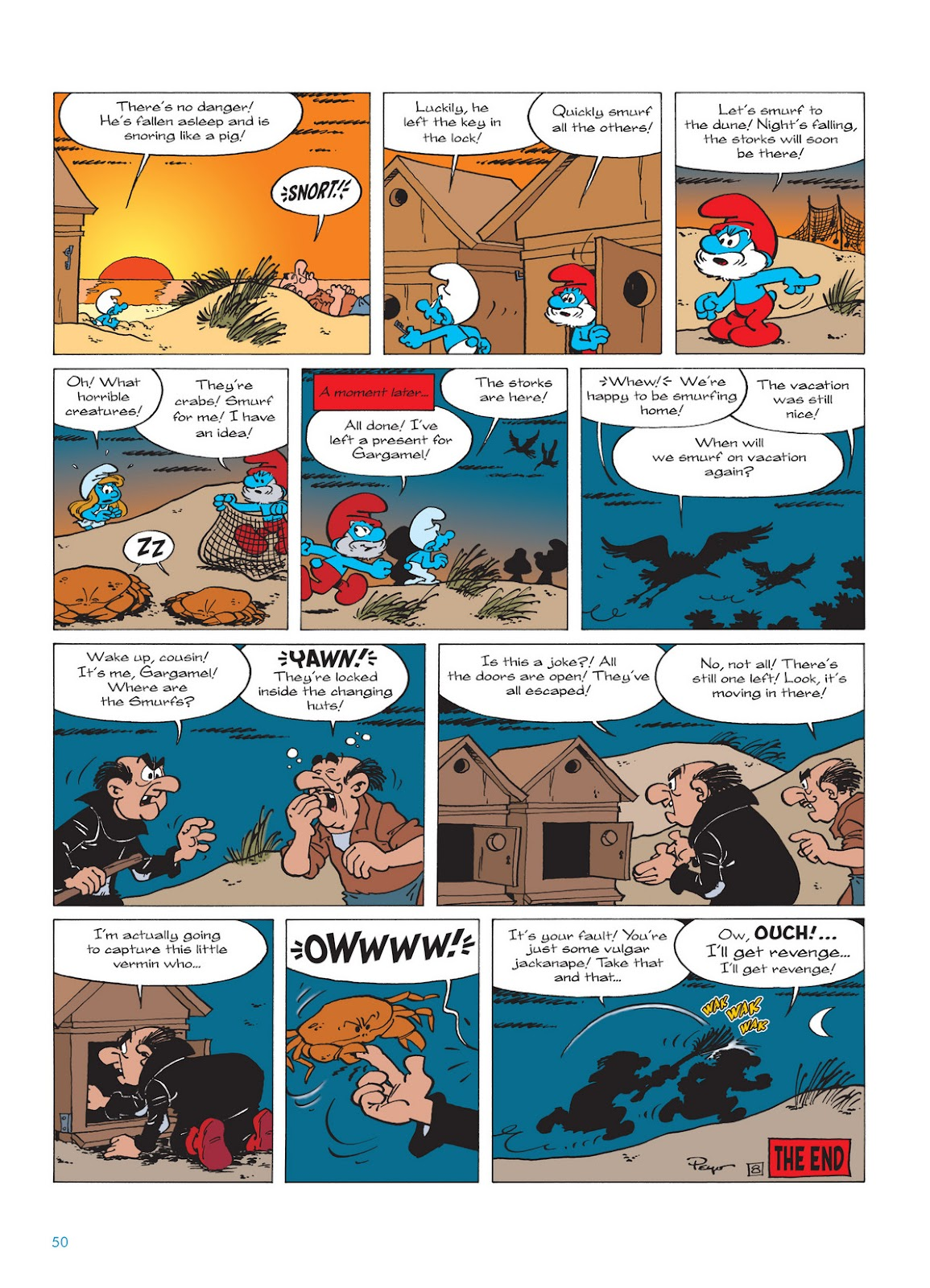 Read online The Smurfs comic -  Issue #12 - 50