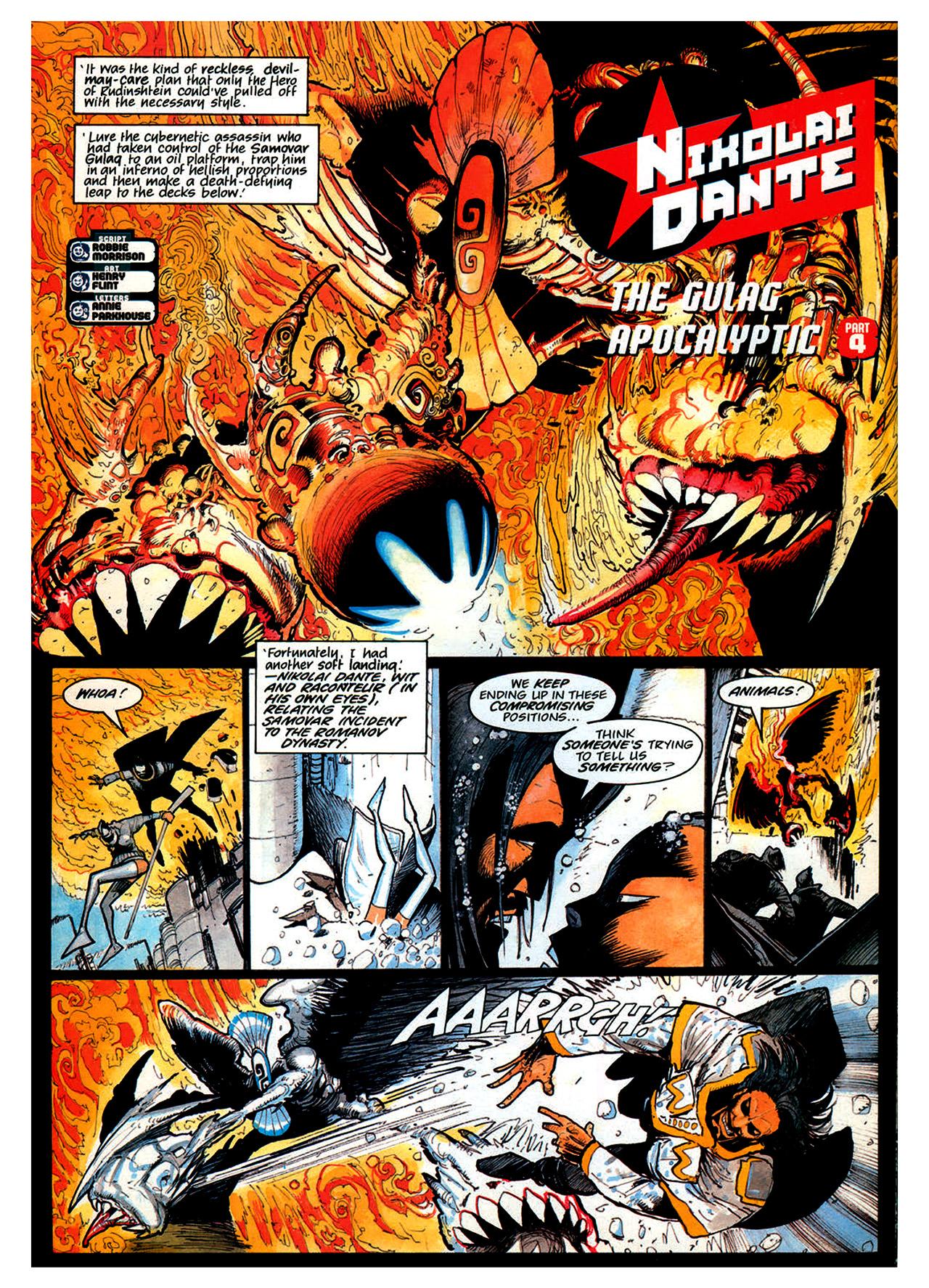 Read online Nikolai Dante comic -  Issue # TPB 1 - 172