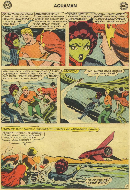 Read online Aquaman (1962) comic -  Issue #16 - 27