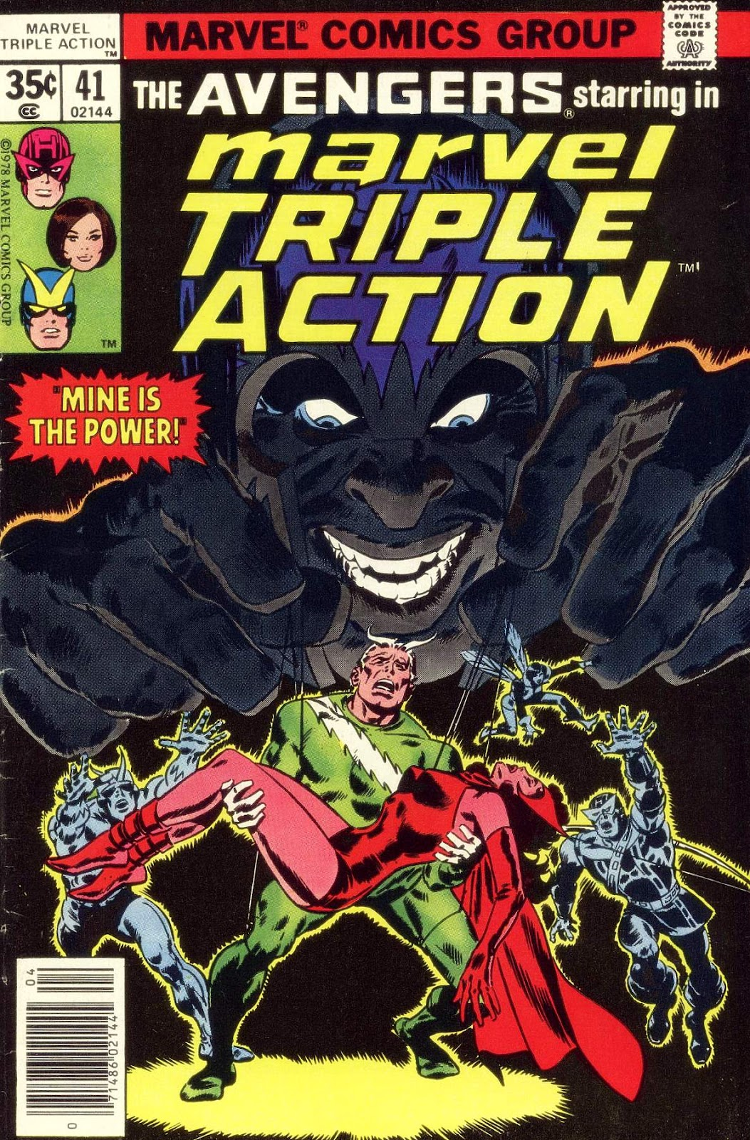 Marvel Triple Action (1972) issue 41 - Page 1