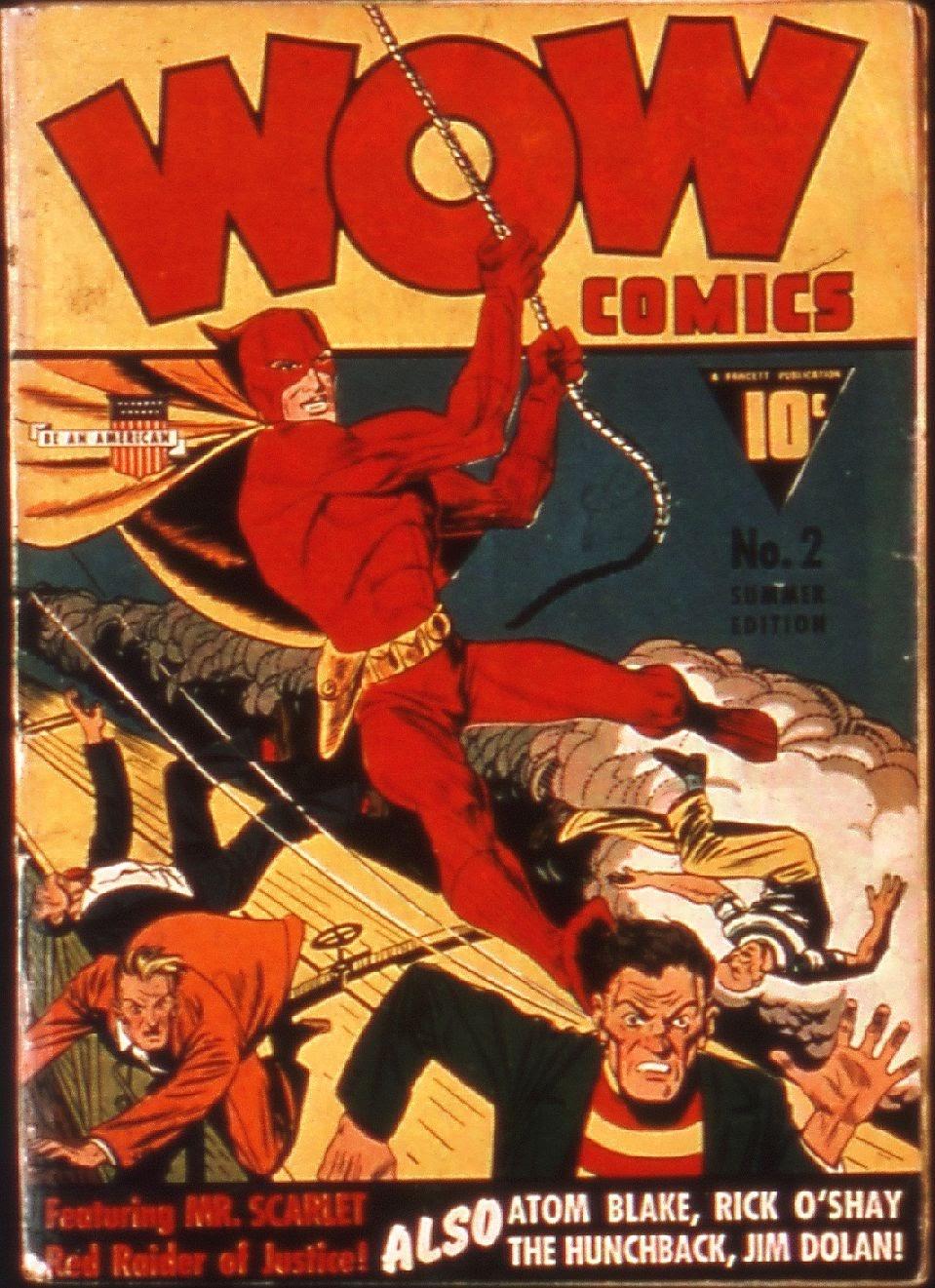 Wow Comics 2 Page 1