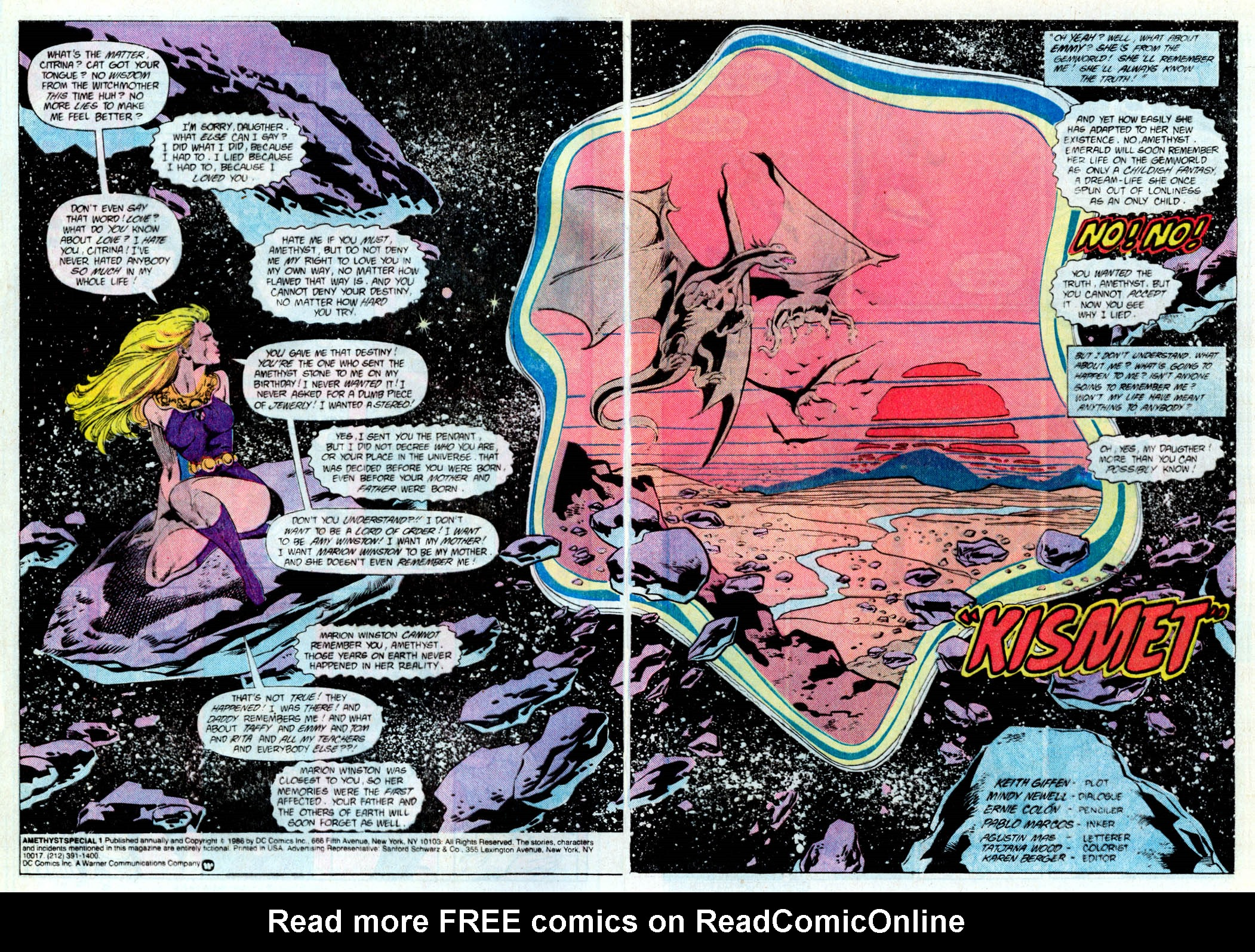 Read online Amethyst (1985) comic -  Issue # _Special 1 - 3