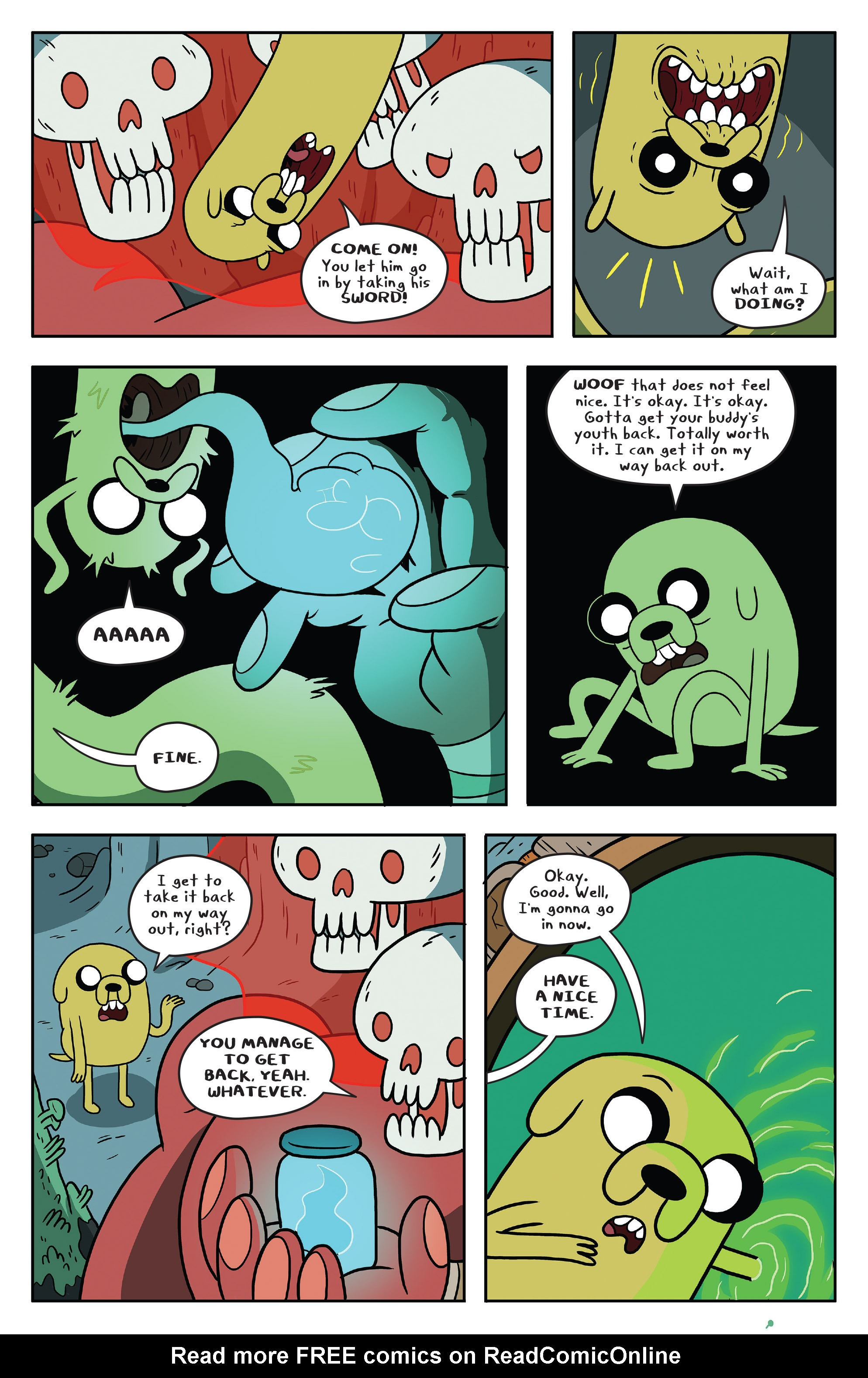 Read online Adventure Time comic -  Issue #51 - 22