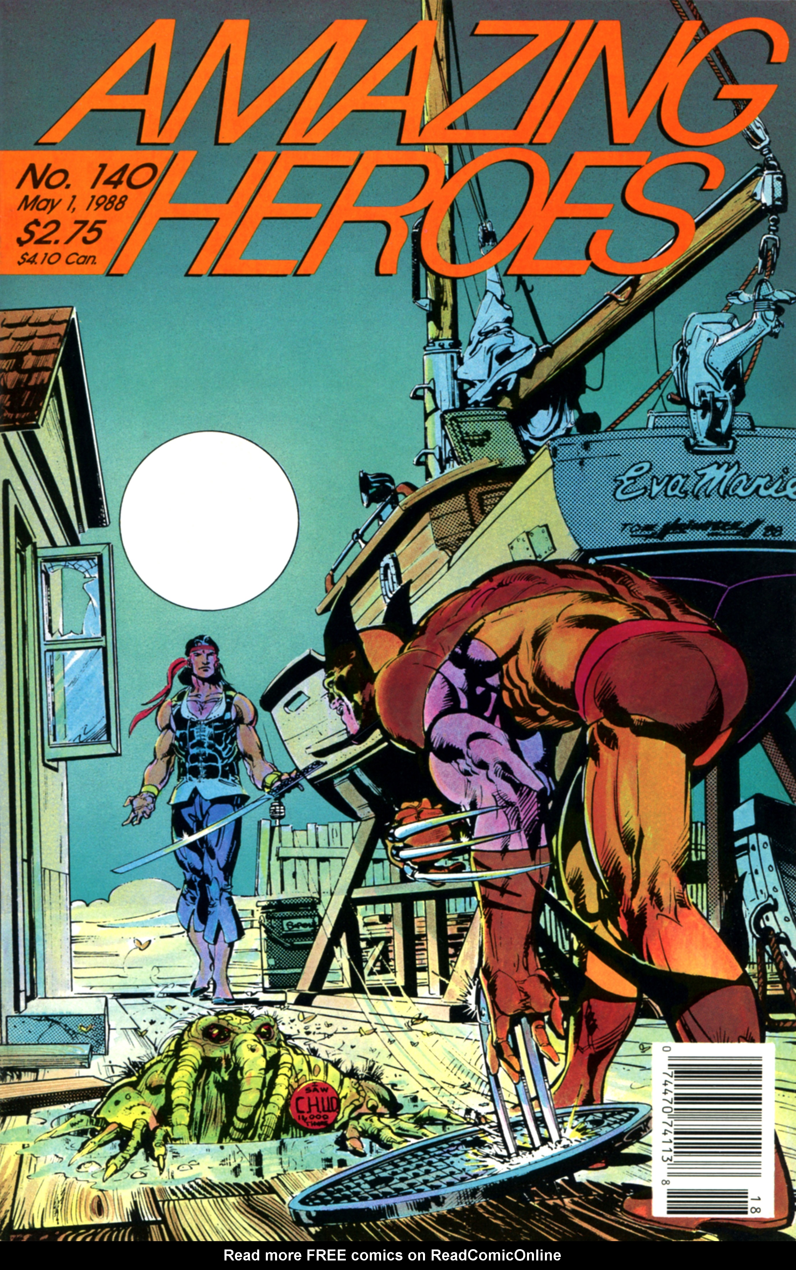 Read online Amazing Heroes comic -  Issue #140 - 1