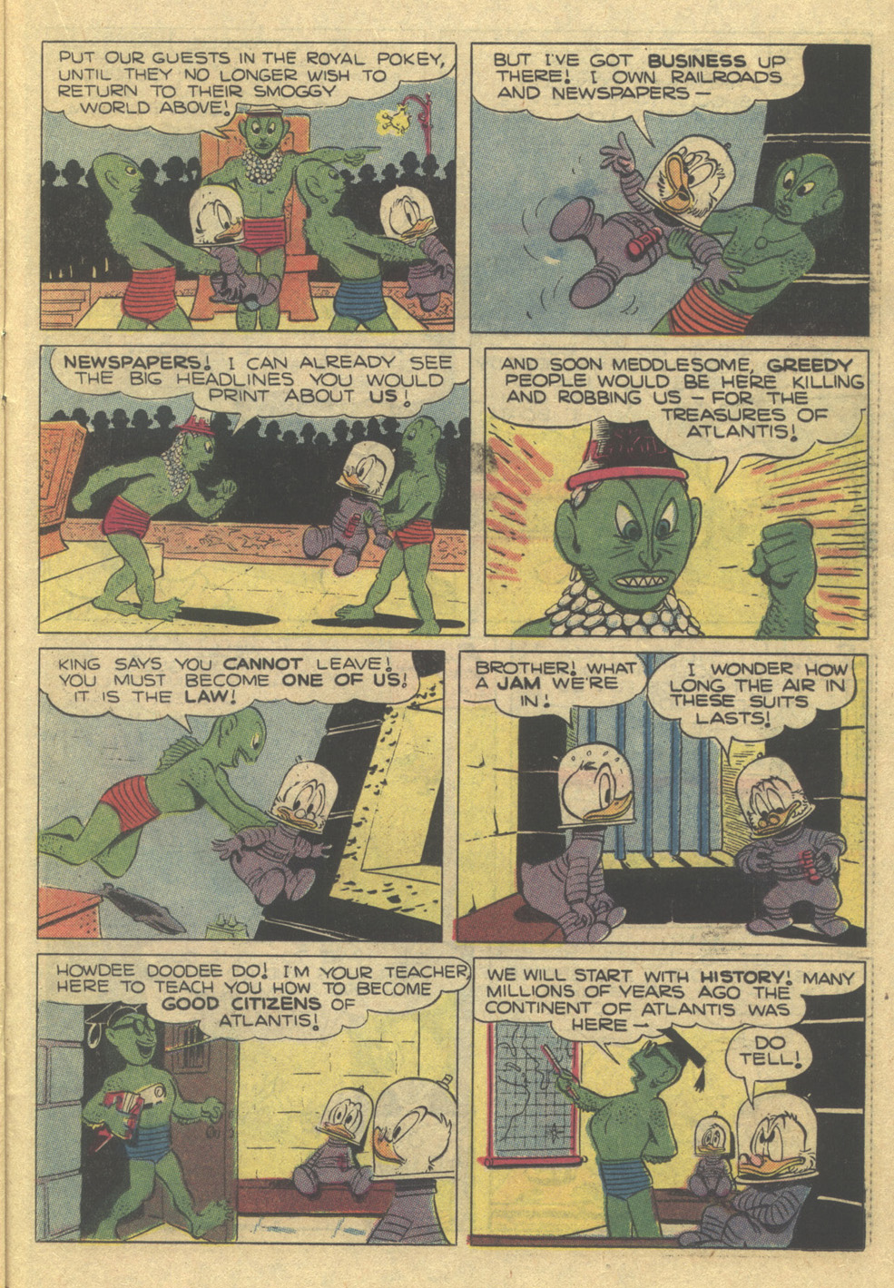 Read online Uncle Scrooge (1953) comic -  Issue #189 - 23