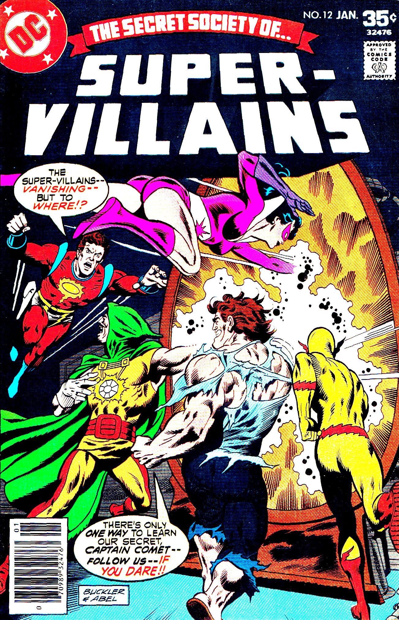 Read online Secret Society of Super-Villains comic -  Issue #12 - 1
