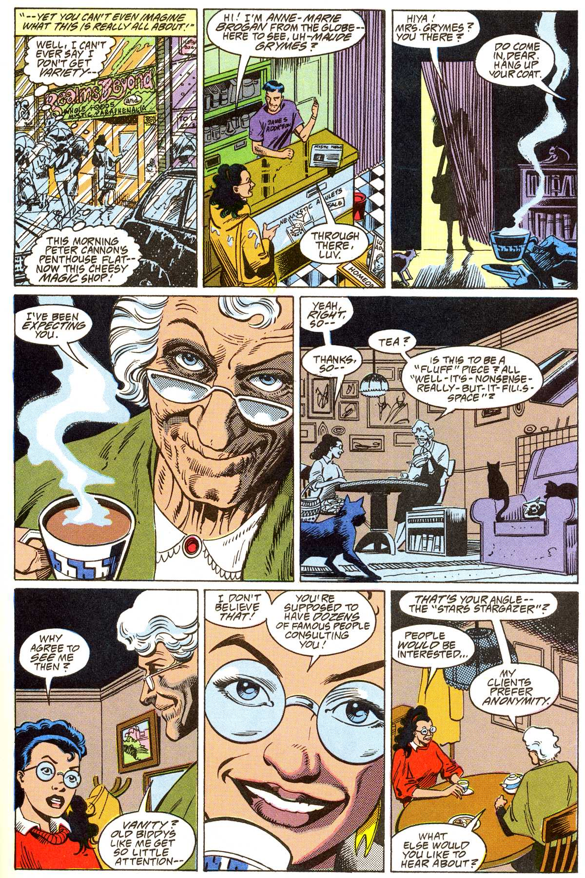 Read online Peter Cannon--Thunderbolt (1992) comic -  Issue #4 - 6