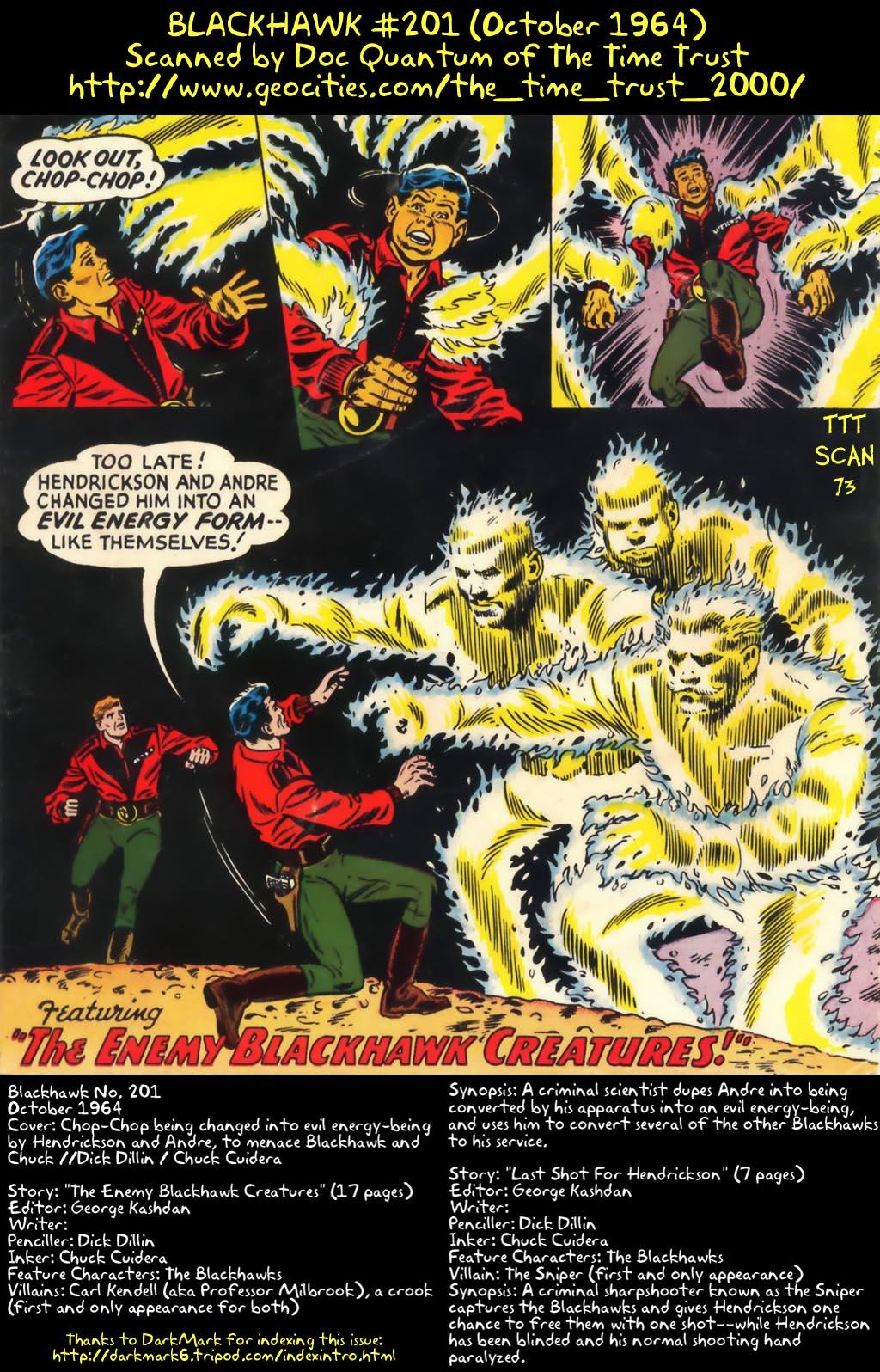 Blackhawk (1957) 201 Page 1