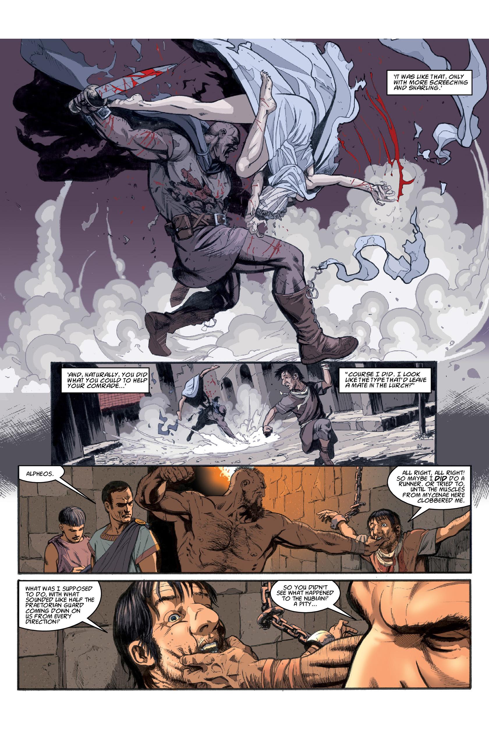 Read online Aquila comic -  Issue #3 - 26