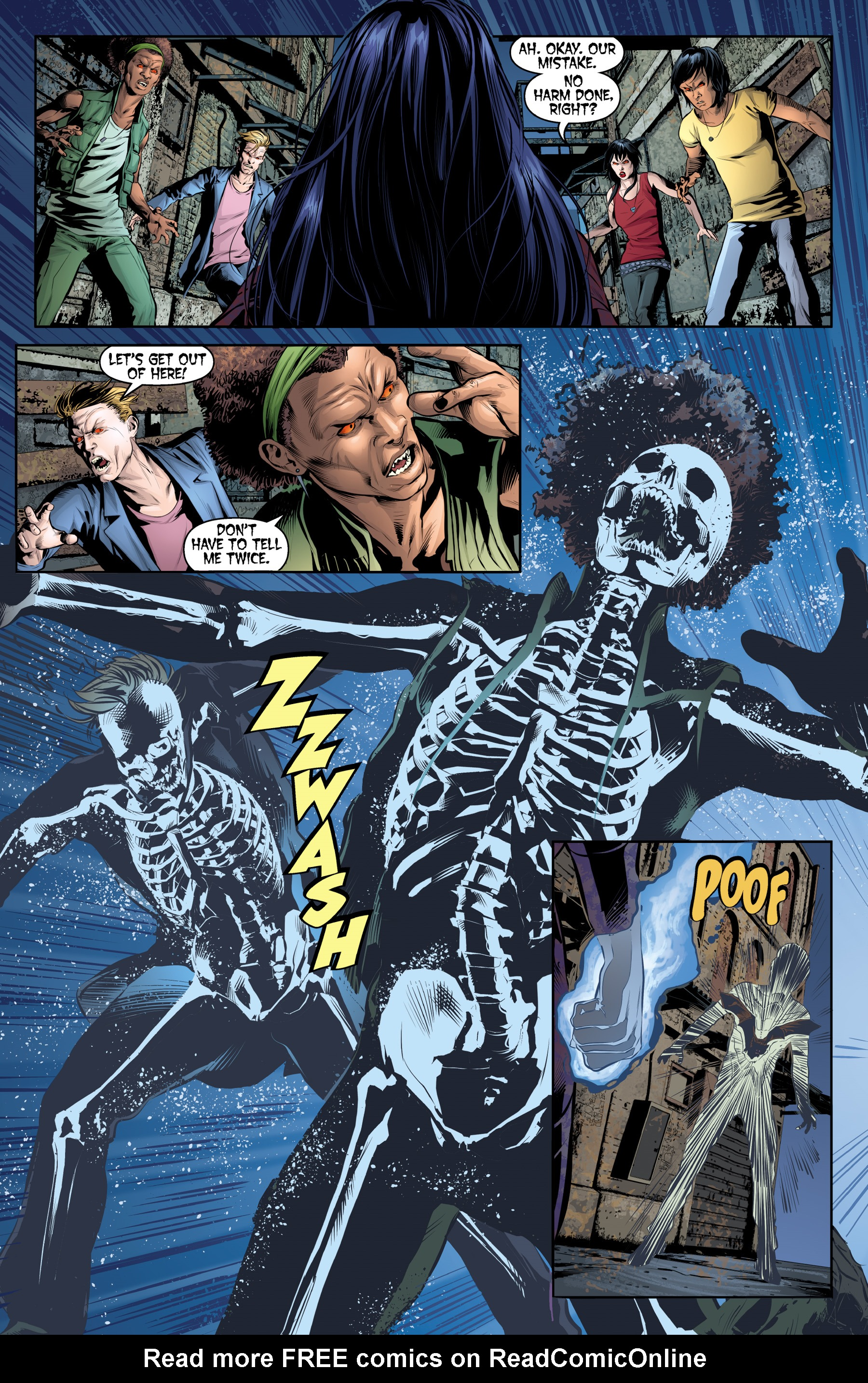 Read online Angel & Faith Season 10 comic -  Issue #19 - 6