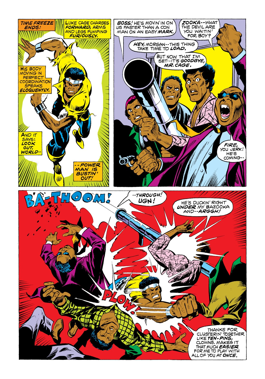 Read online Marvel Masterworks: Luke Cage, Power Man comic -  Issue # TPB 2 (Part 1) - 72
