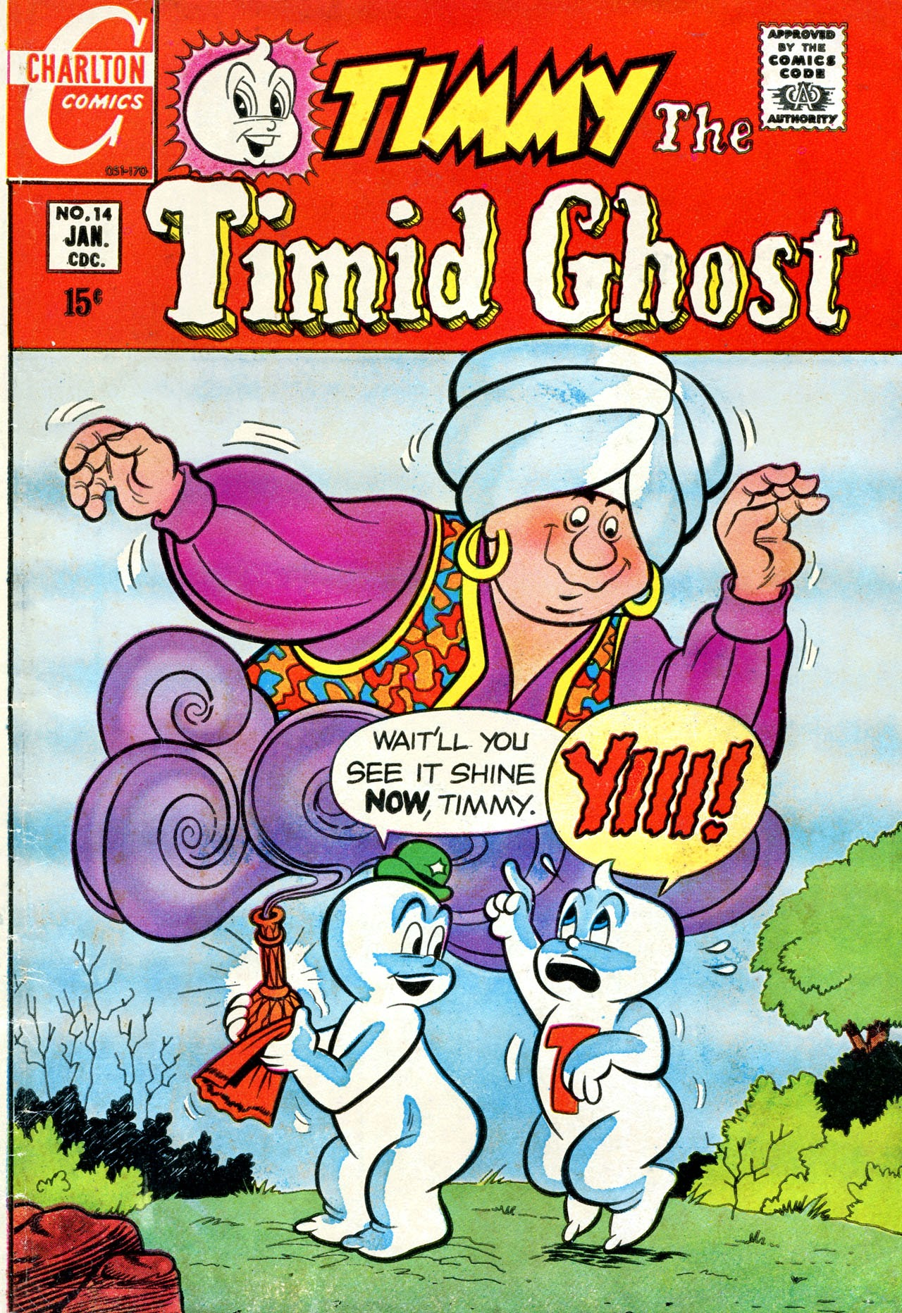 Timmy the Timid Ghost 14 Page 1