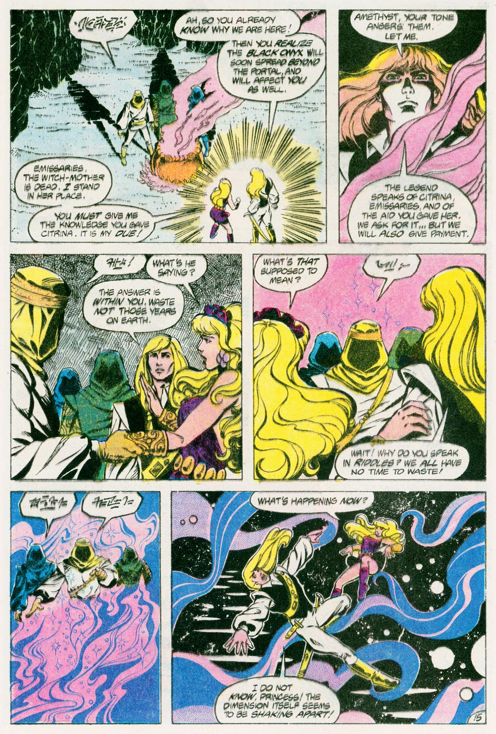 Read online Amethyst (1985) comic -  Issue #12 - 20