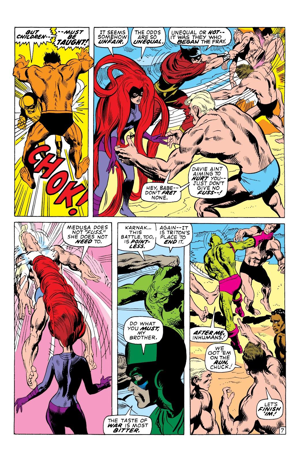Read online Marvel Masterworks: The Inhumans comic -  Issue # TPB 1 (Part 2) - 42