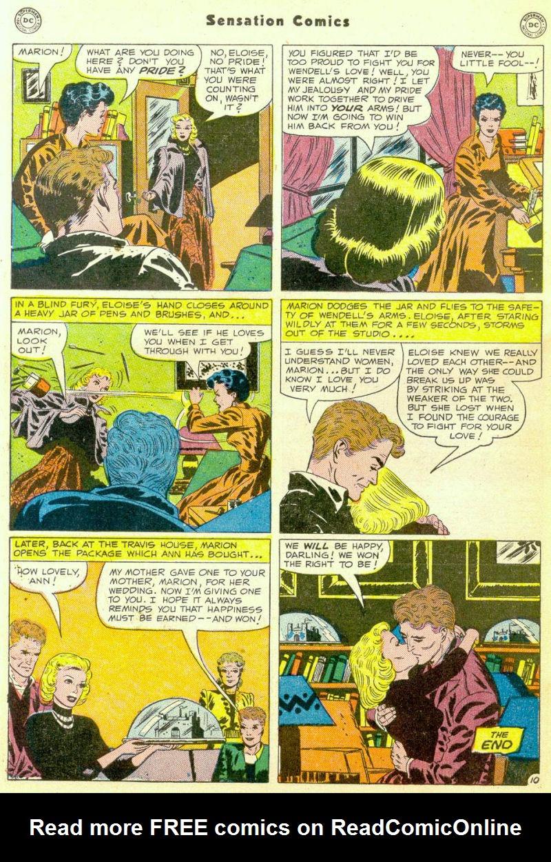Read online Sensation (Mystery) Comics comic -  Issue #98 - 48