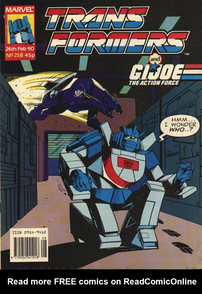 The Transformers (UK) 258 Page 1