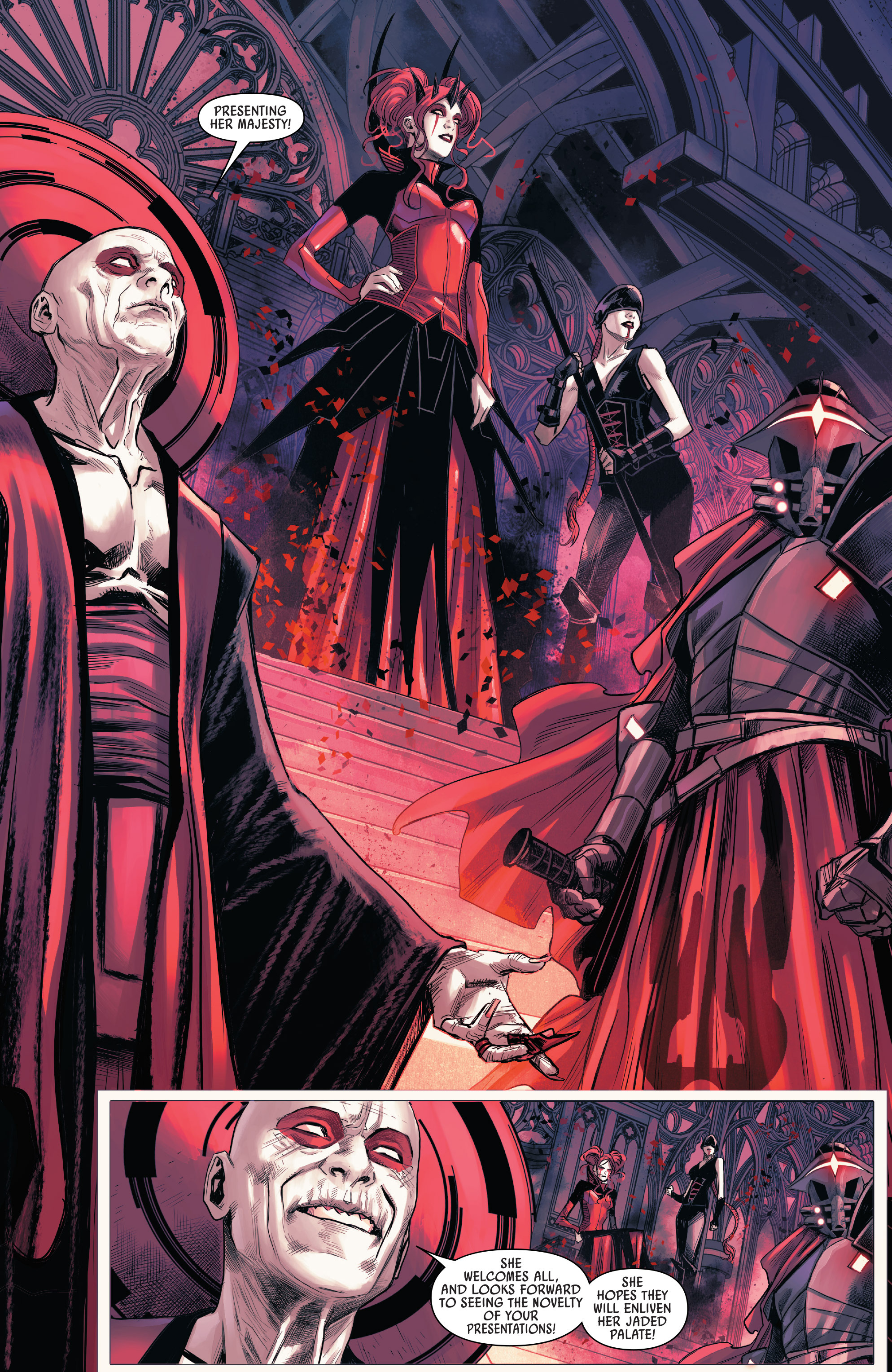 Read online Star Wars: The Screaming Citadel comic -  Issue # Full - 26